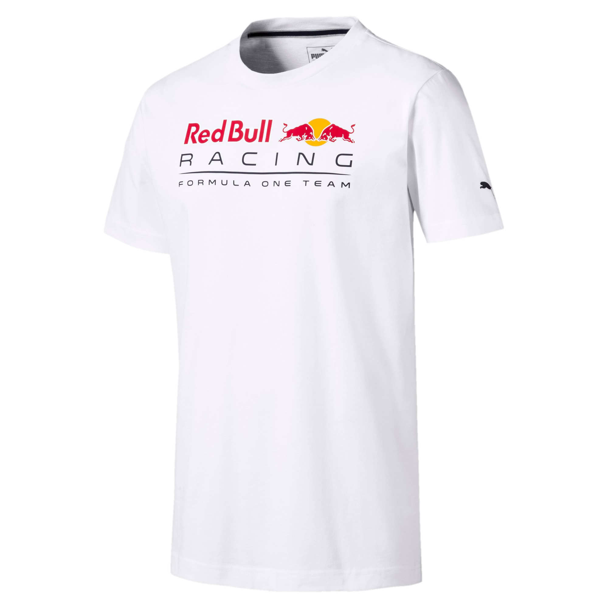 Thumbnail 4 of Red Bull Racing Logo Men's Tee, Puma White, medium