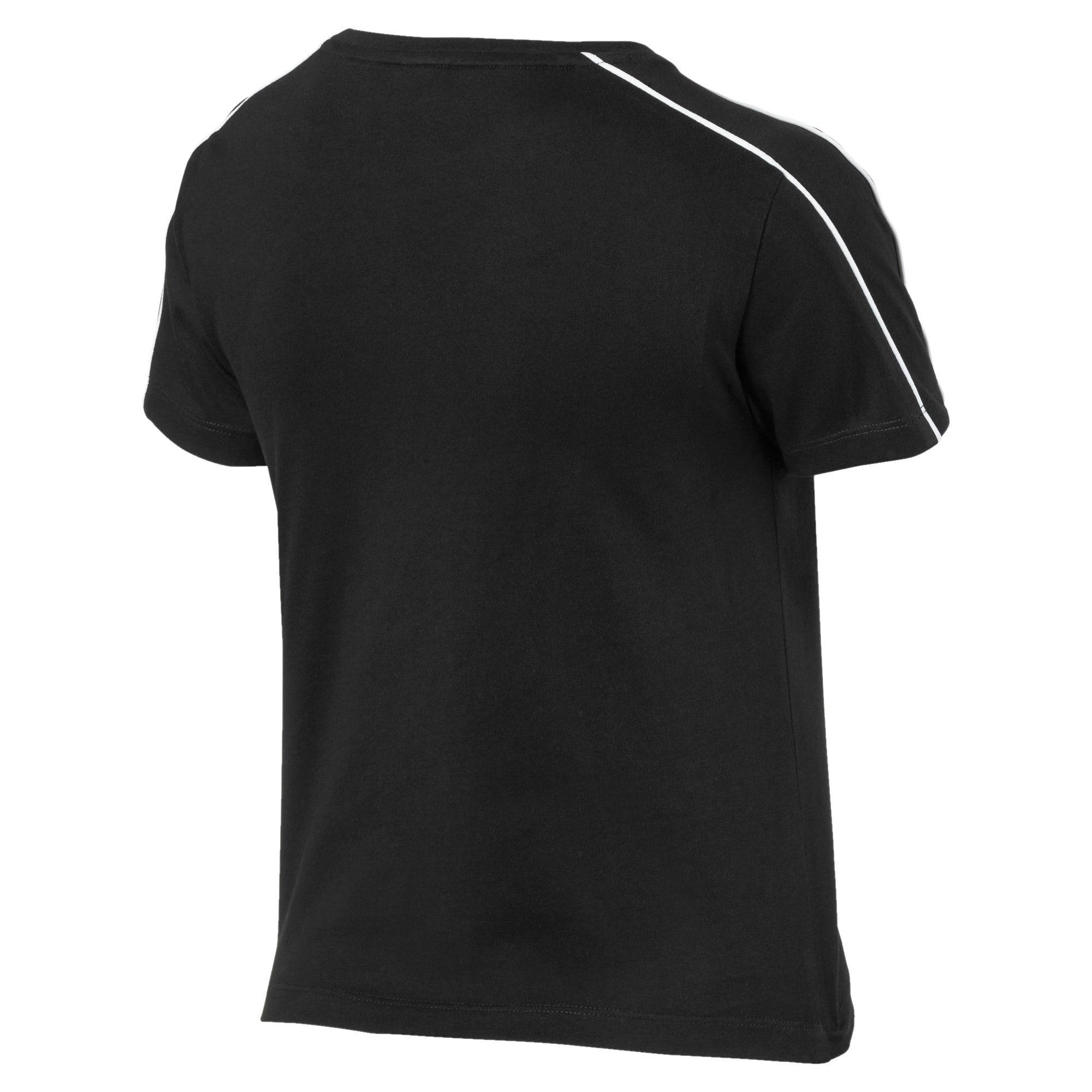Miniatura 5 de Camiseta Classics Tight para mujer, Puma Black, mediano