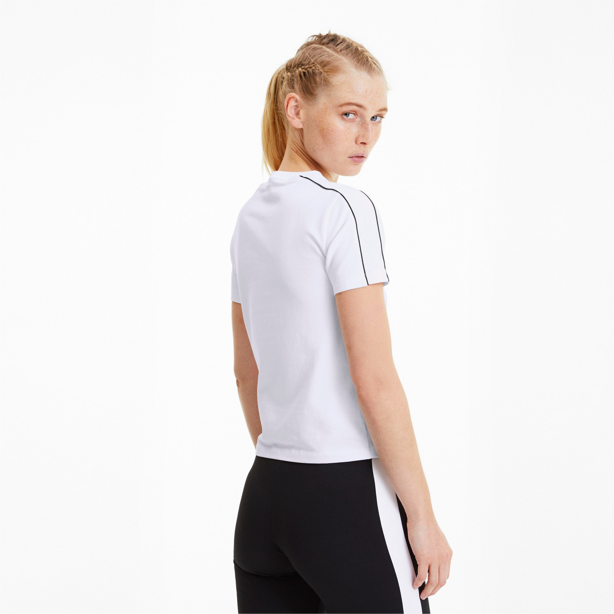 Thumbnail 2 of Classics Tight Women's Top, Puma White, medium