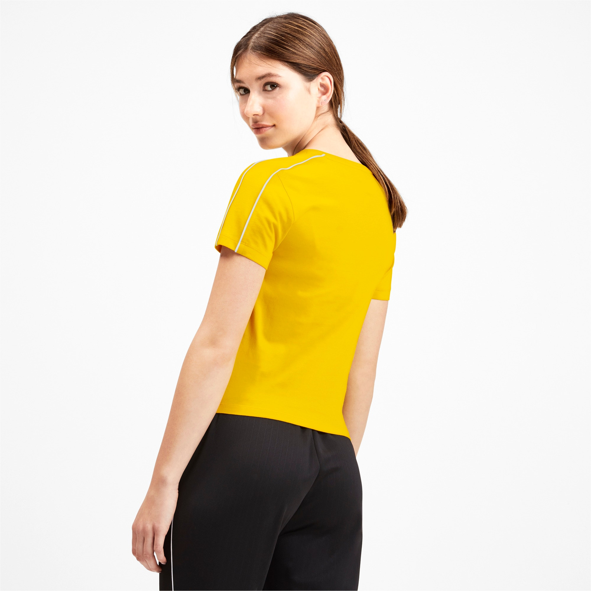 Thumbnail 3 of Classics Tight Women's Top, Sulphur, medium