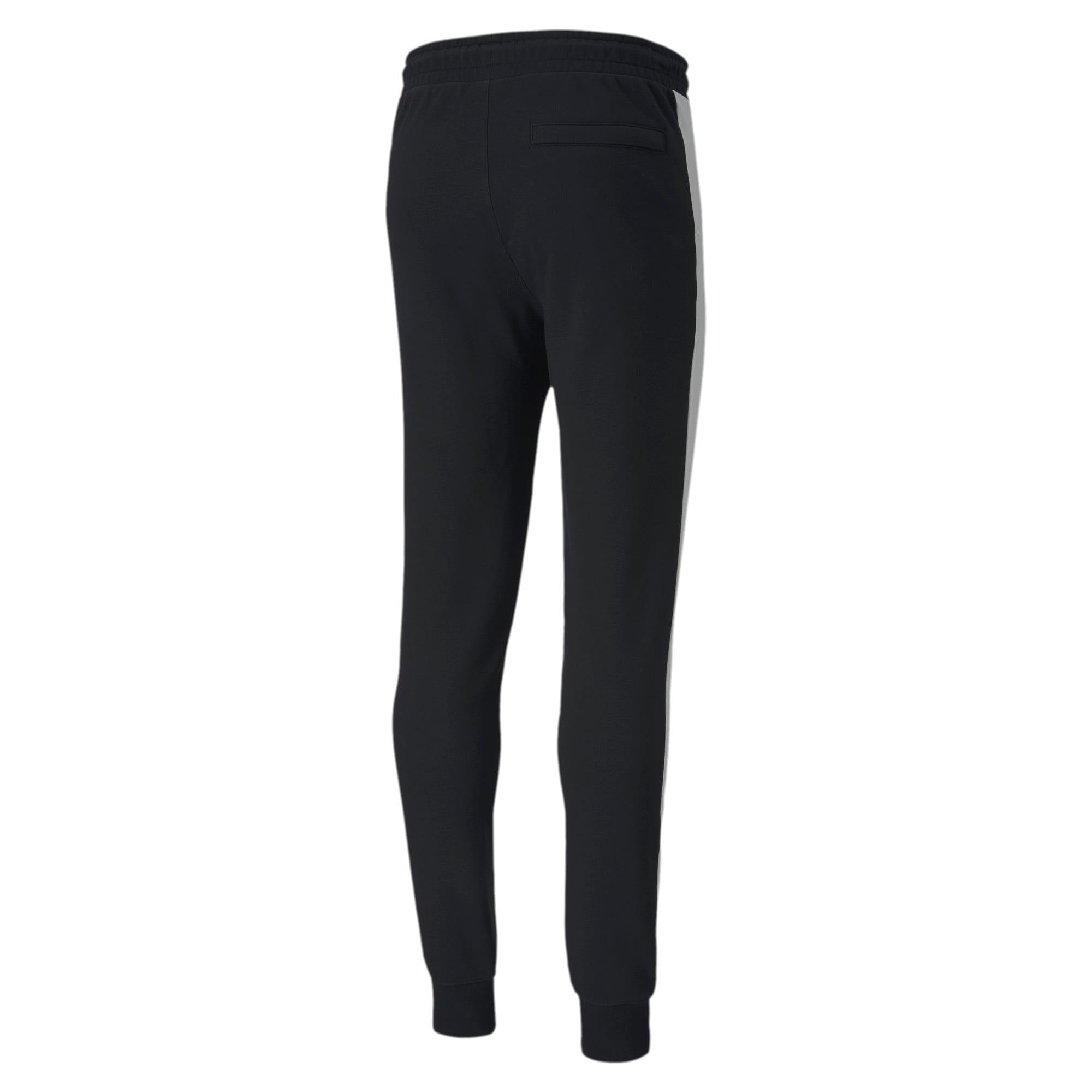 Thumbnail 5 of Iconic T7 Men's Track Pants, Puma Black, medium