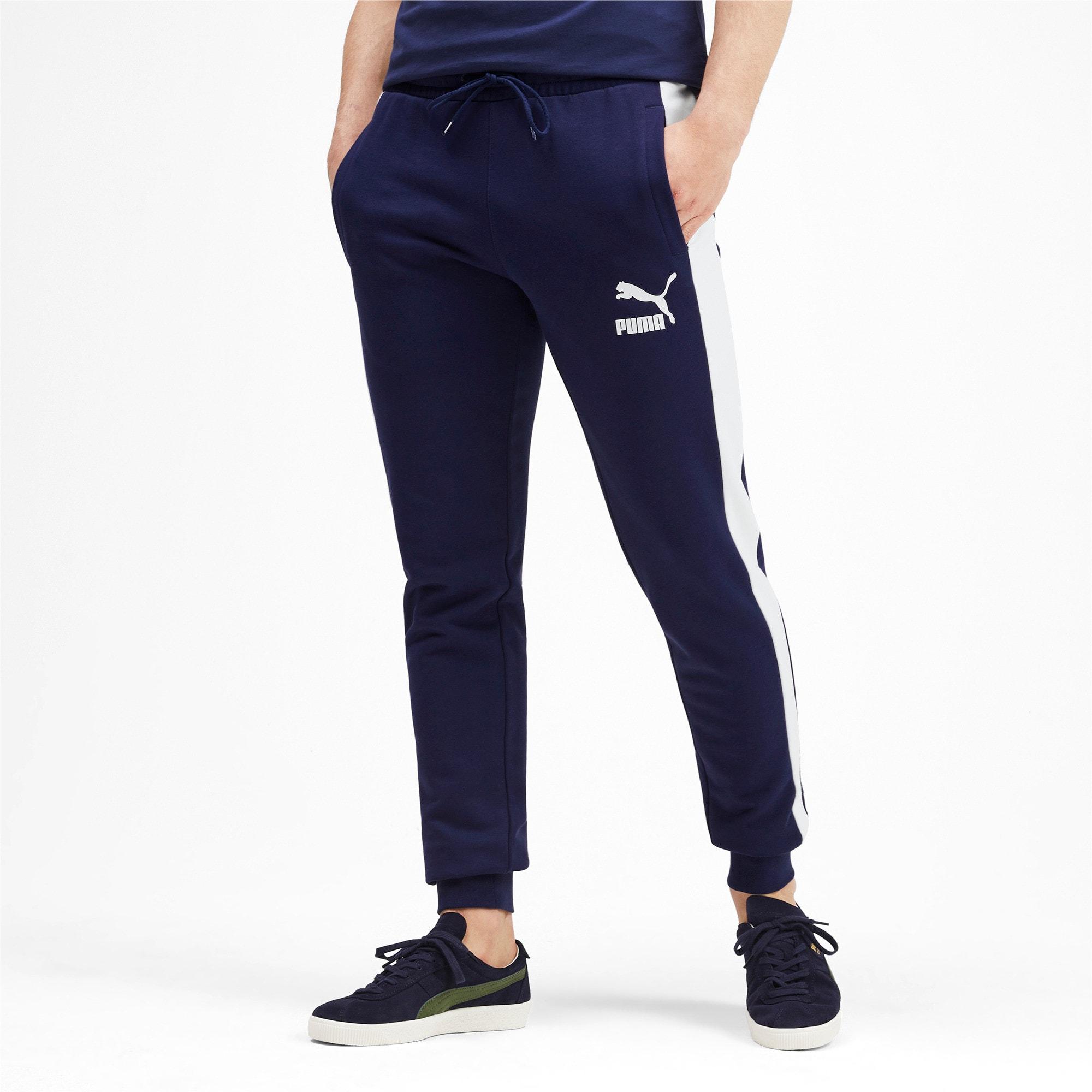 Thumbnail 2 of Iconic T7 Men's Track Pants, Peacoat, medium