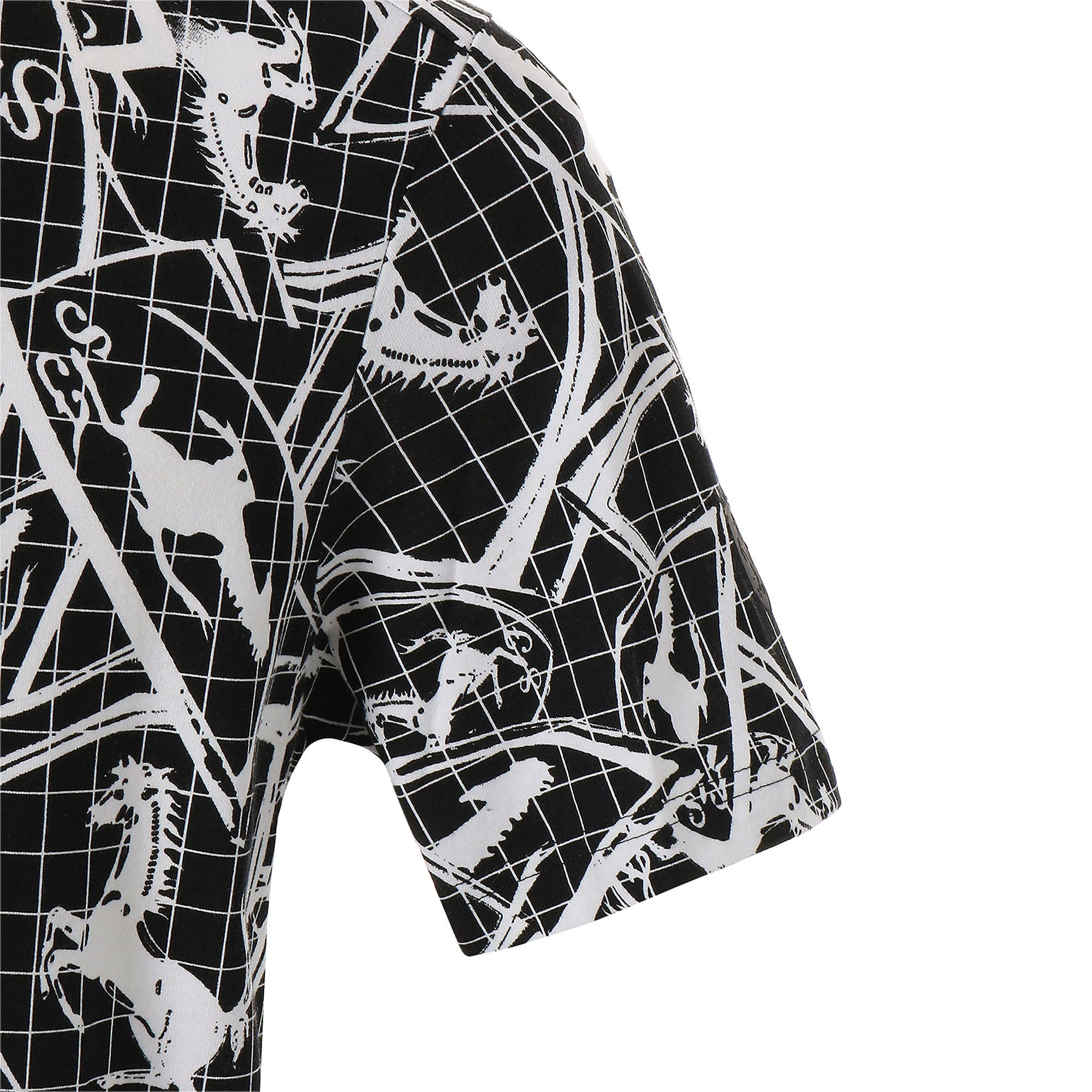 Thumbnail 5 of フェラーリ AOP Tシャツ 半袖, Puma Black, medium-JPN