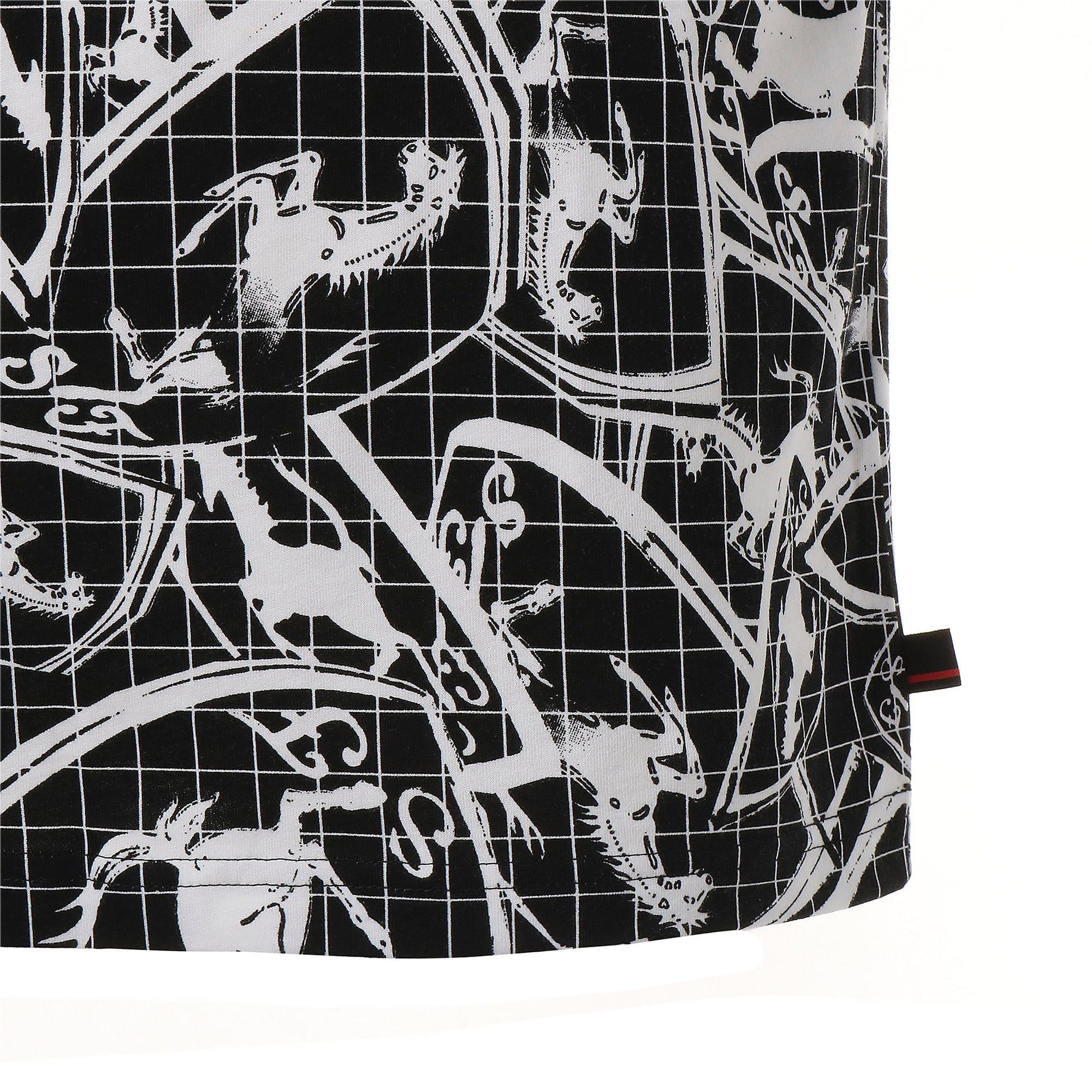 Thumbnail 6 of フェラーリ AOP Tシャツ 半袖, Puma Black, medium-JPN
