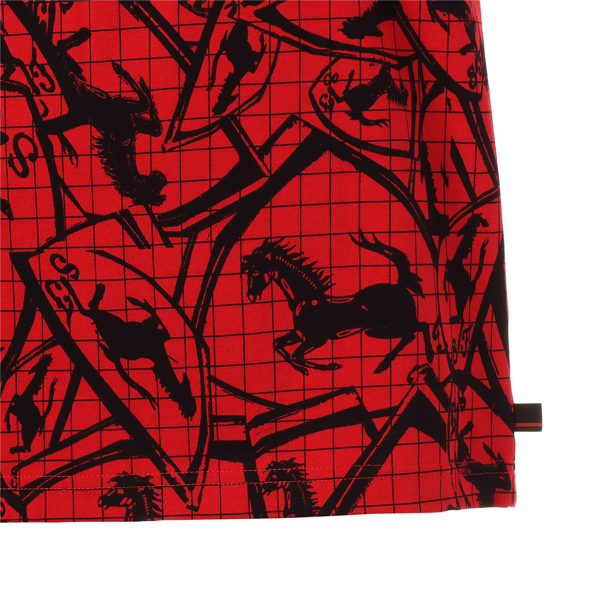 Thumbnail 6 of フェラーリ AOP Tシャツ 半袖, Rosso Corsa, medium-JPN