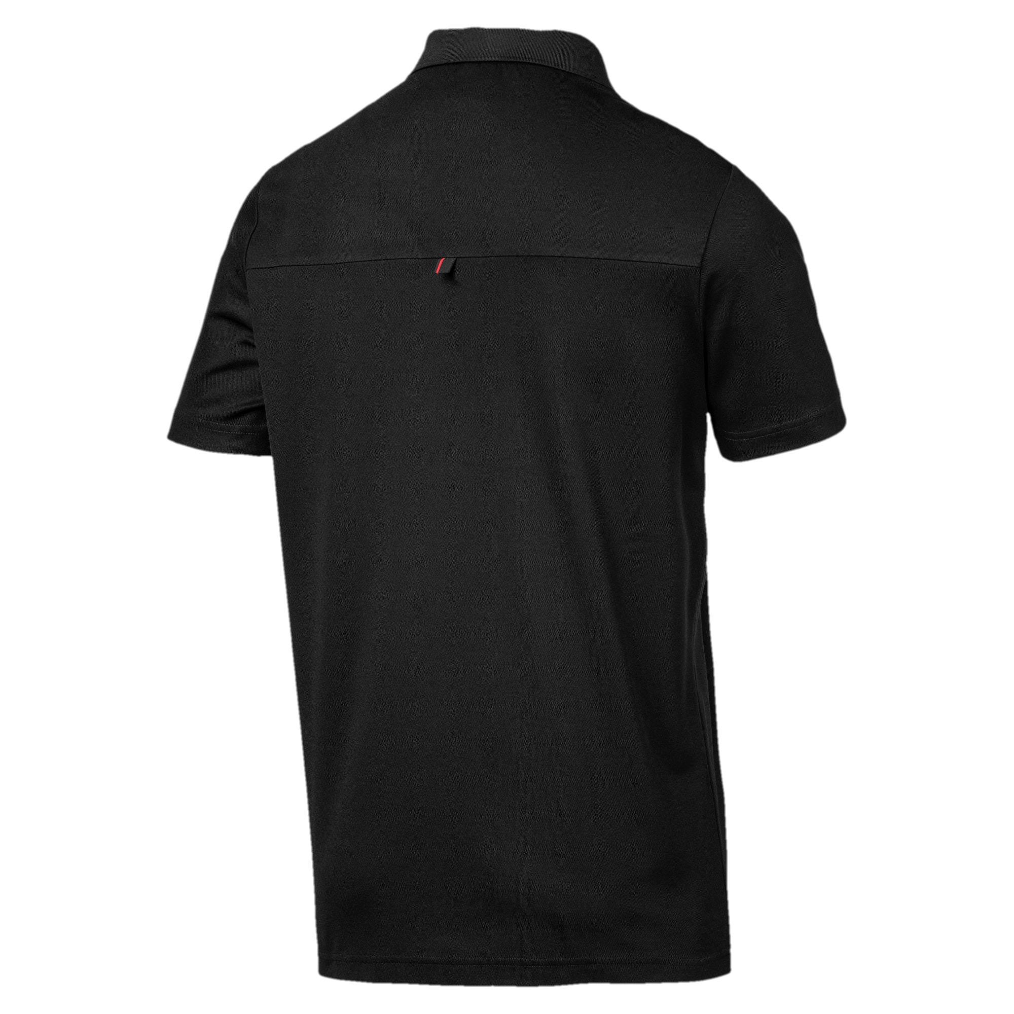 Thumbnail 6 of Ferrari Men's Polo Shirt, Puma Black, medium
