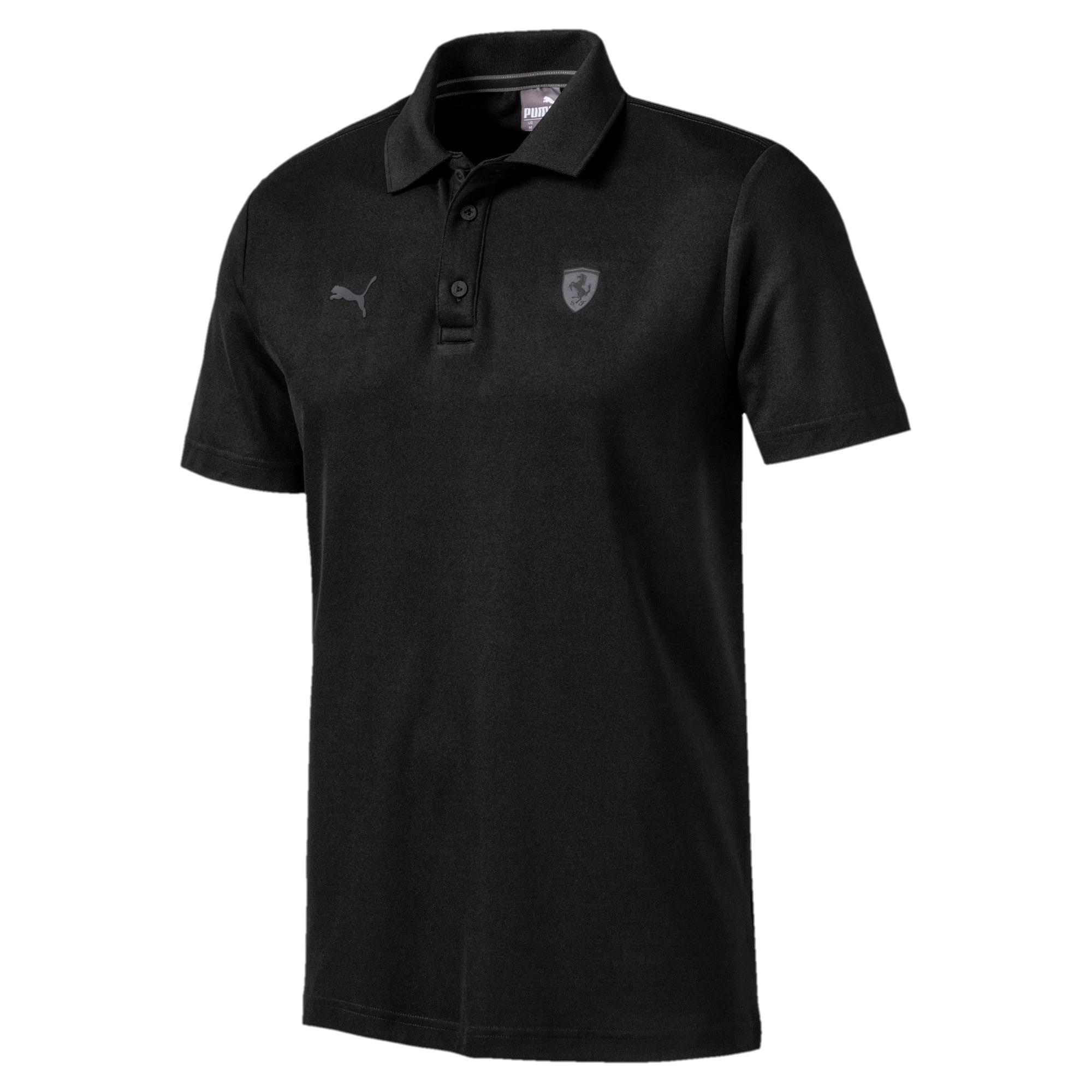 Thumbnail 5 of Ferrari Men's Polo Shirt, Puma Black, medium