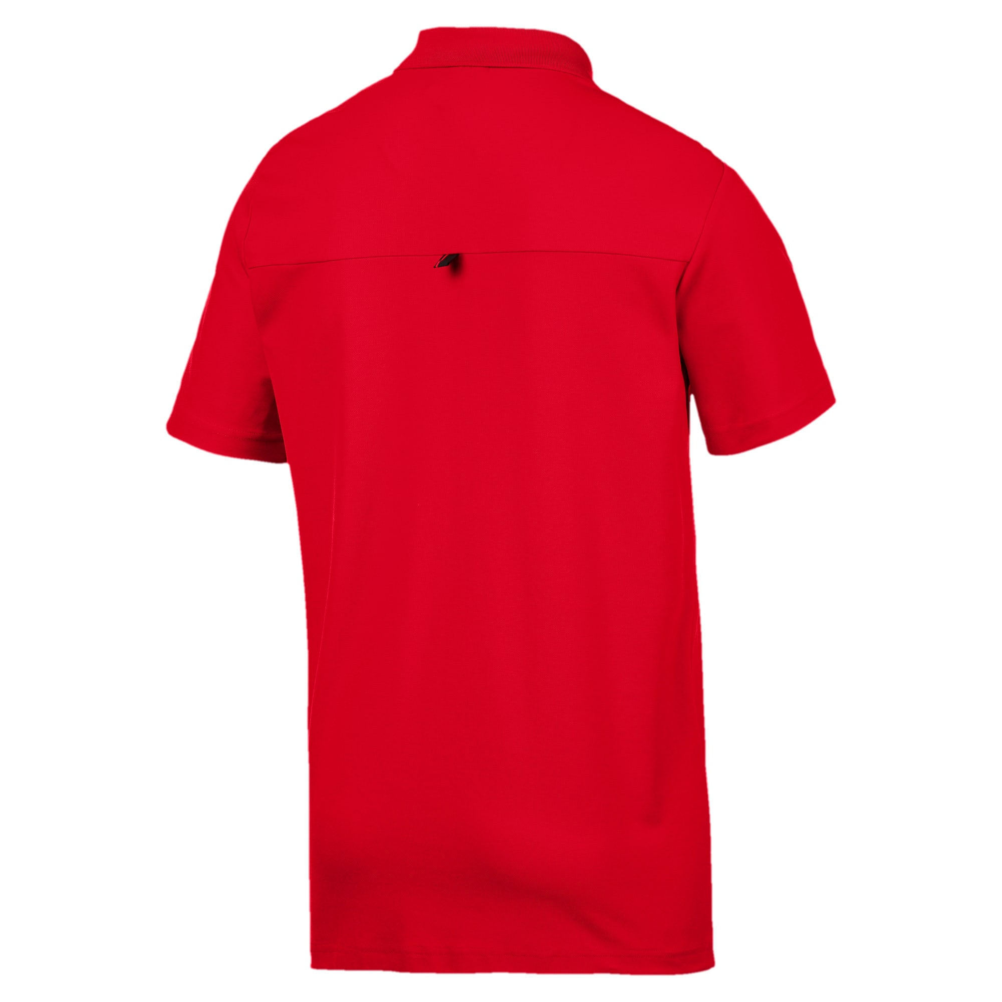 Thumbnail 6 of Ferrari Men's Polo Shirt, Rosso Corsa, medium