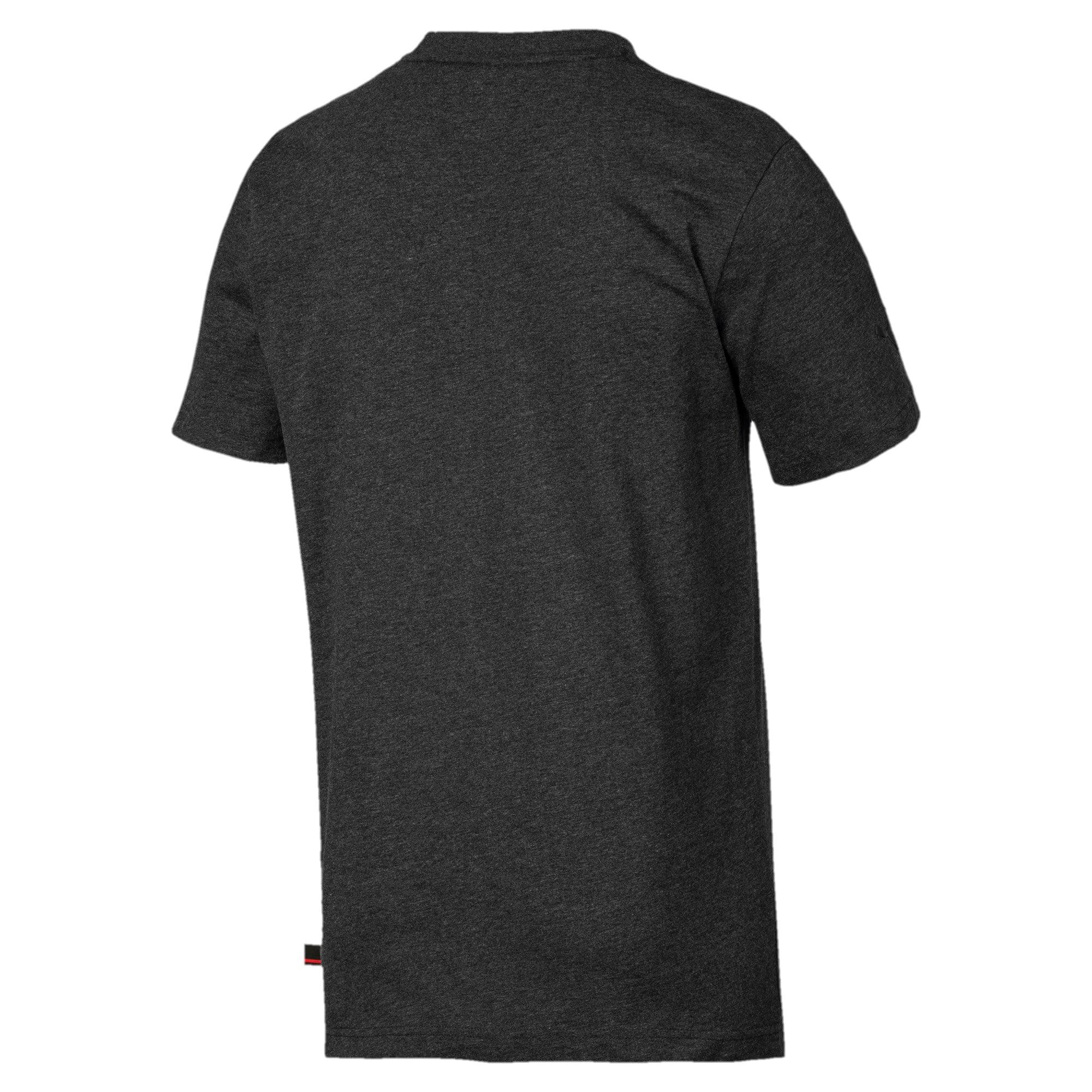 Miniatura 2 de Camiseta con escudo Ferrarigrande, para hombre, Dark Gray Heather, mediano