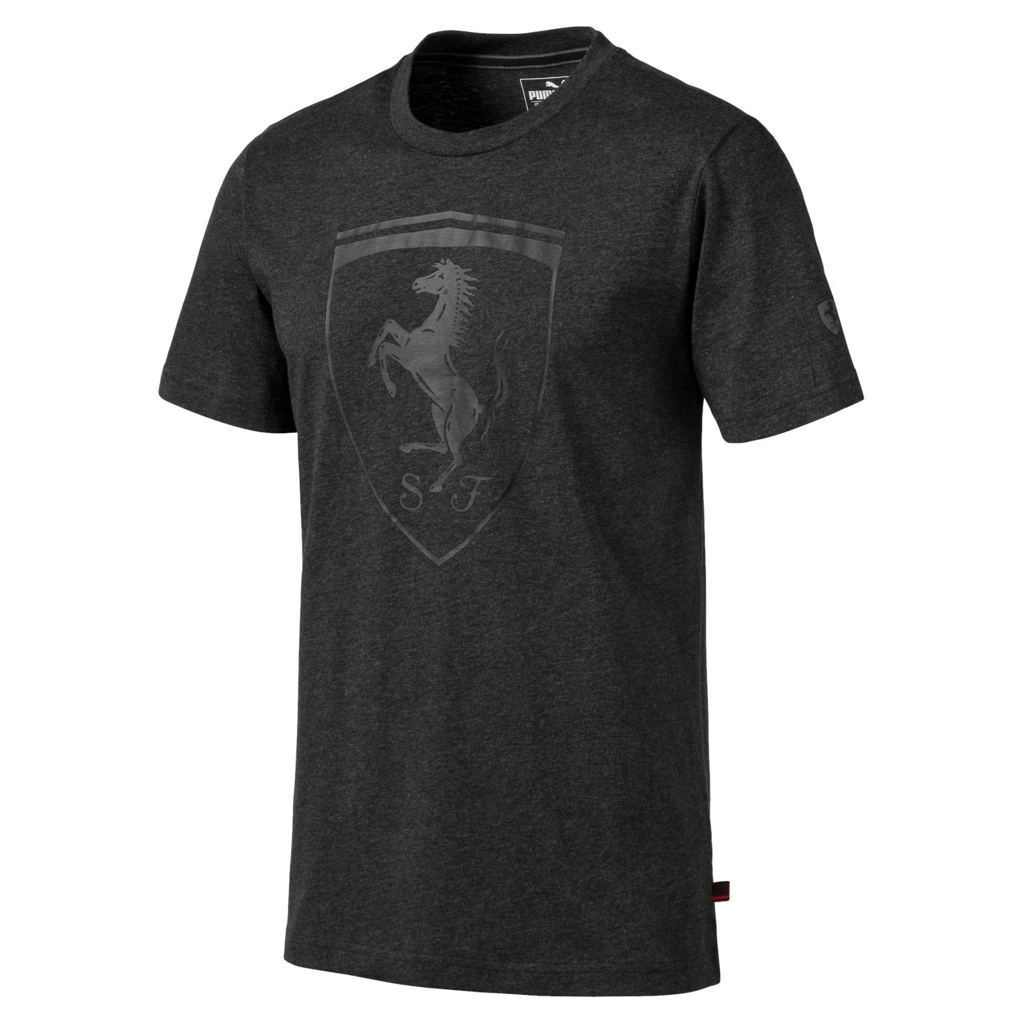 Miniatura 1 de Camiseta con escudo Ferrarigrande, para hombre, Dark Gray Heather, mediano