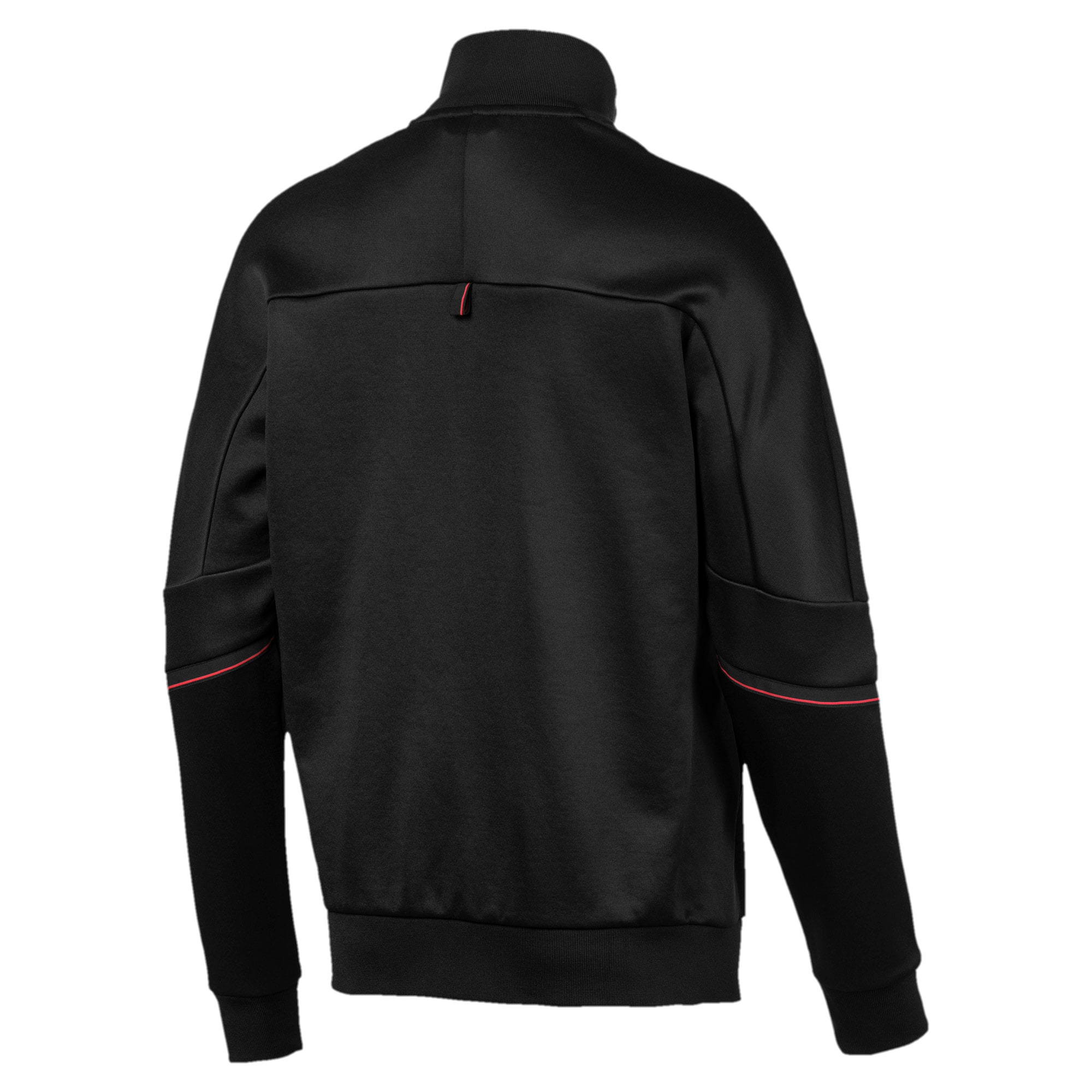 Thumbnail 6 of Ferrari T7 Herren Trainingsjacke, Puma Black, medium