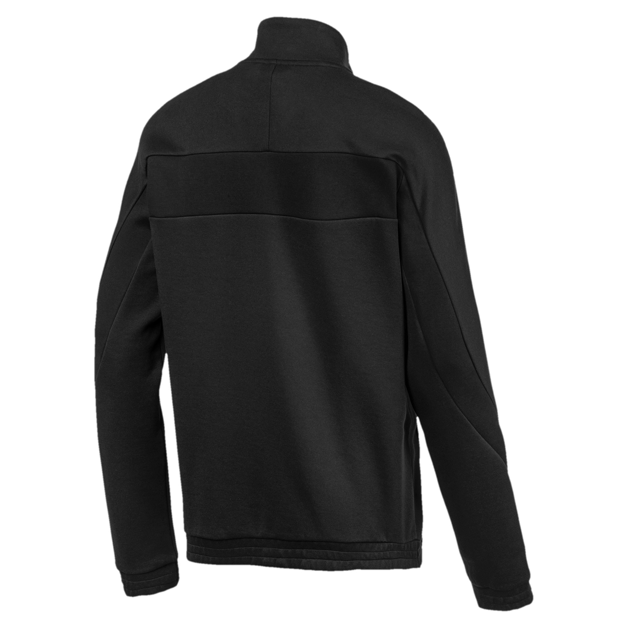 Thumbnail 6 of Ferrari Men's Sweat Jacket, Puma Black, medium