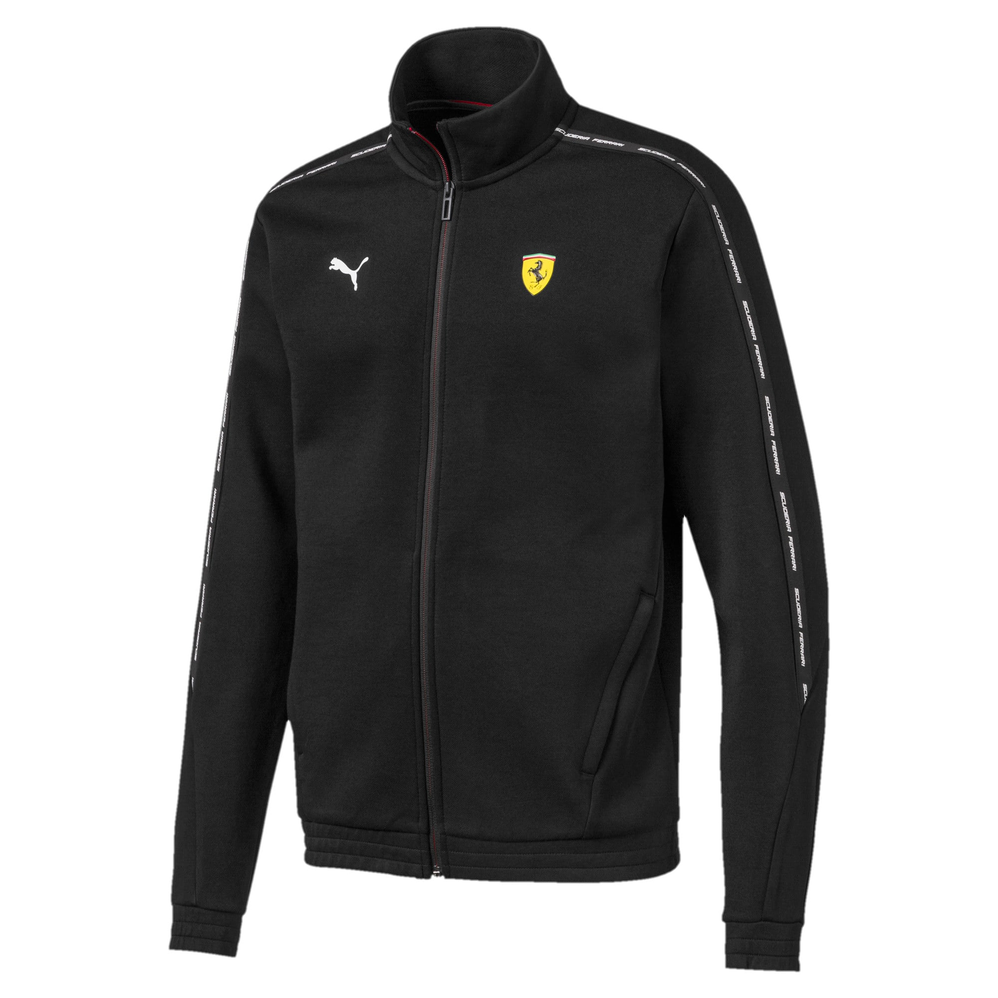 Thumbnail 5 of Ferrari Men's Sweat Jacket, Puma Black, medium