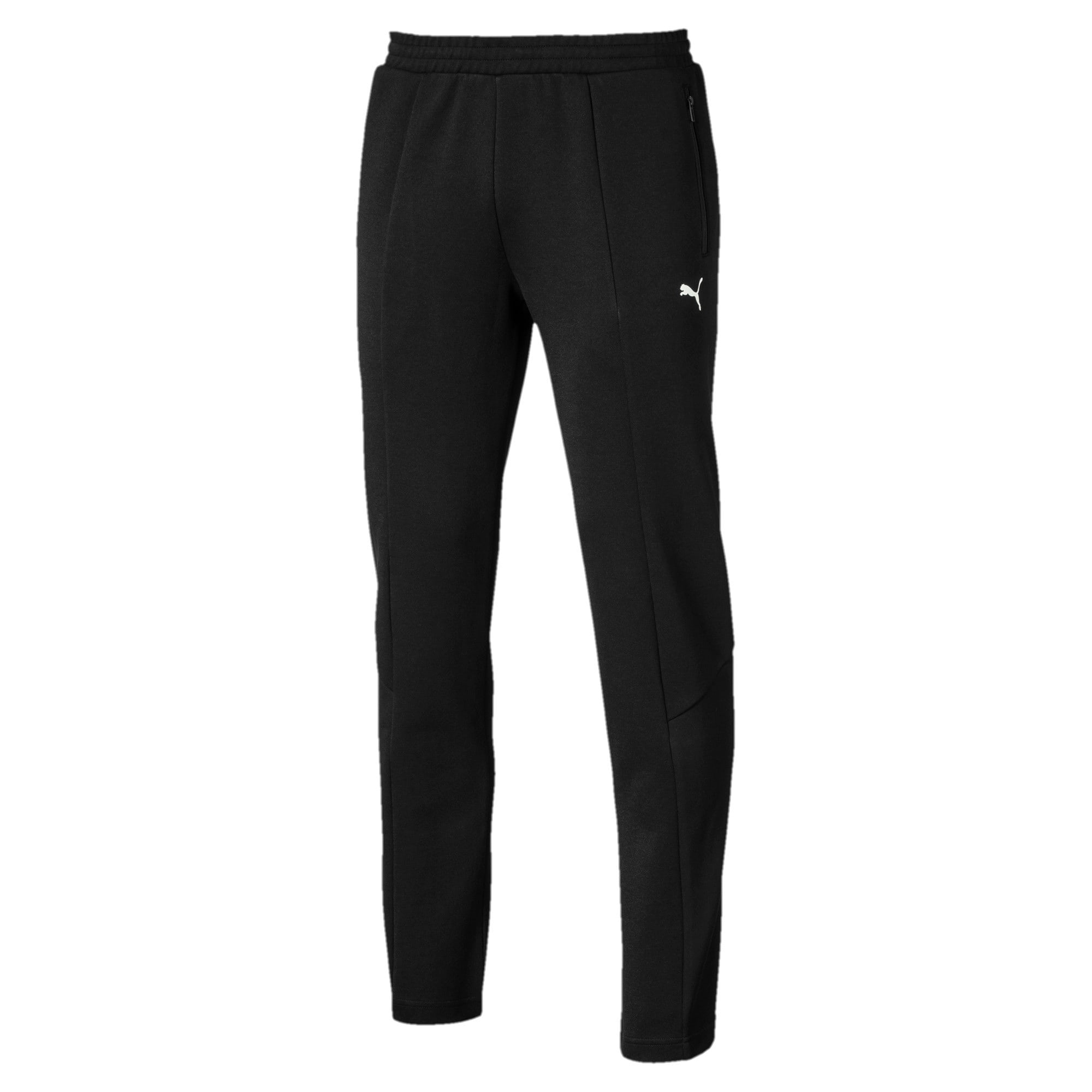 Thumbnail 4 of Pantalon en sweat Ferrari Slim Fit pour homme, Puma Black, medium