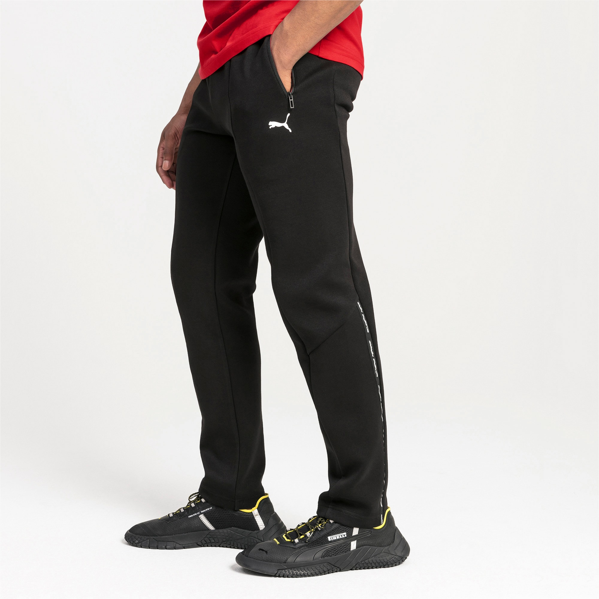 Thumbnail 1 of Pantalon en sweat Ferrari Slim Fit pour homme, Puma Black, medium