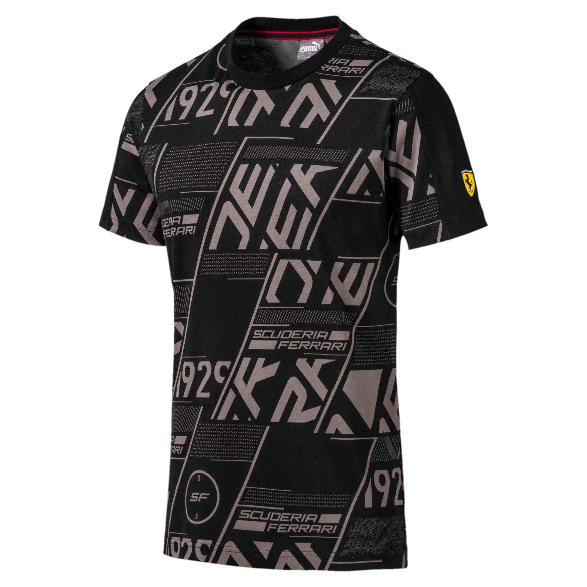 Miniatura 1 de Camiseta Scuderia Ferrari AOP para hombre, Puma Black, mediano