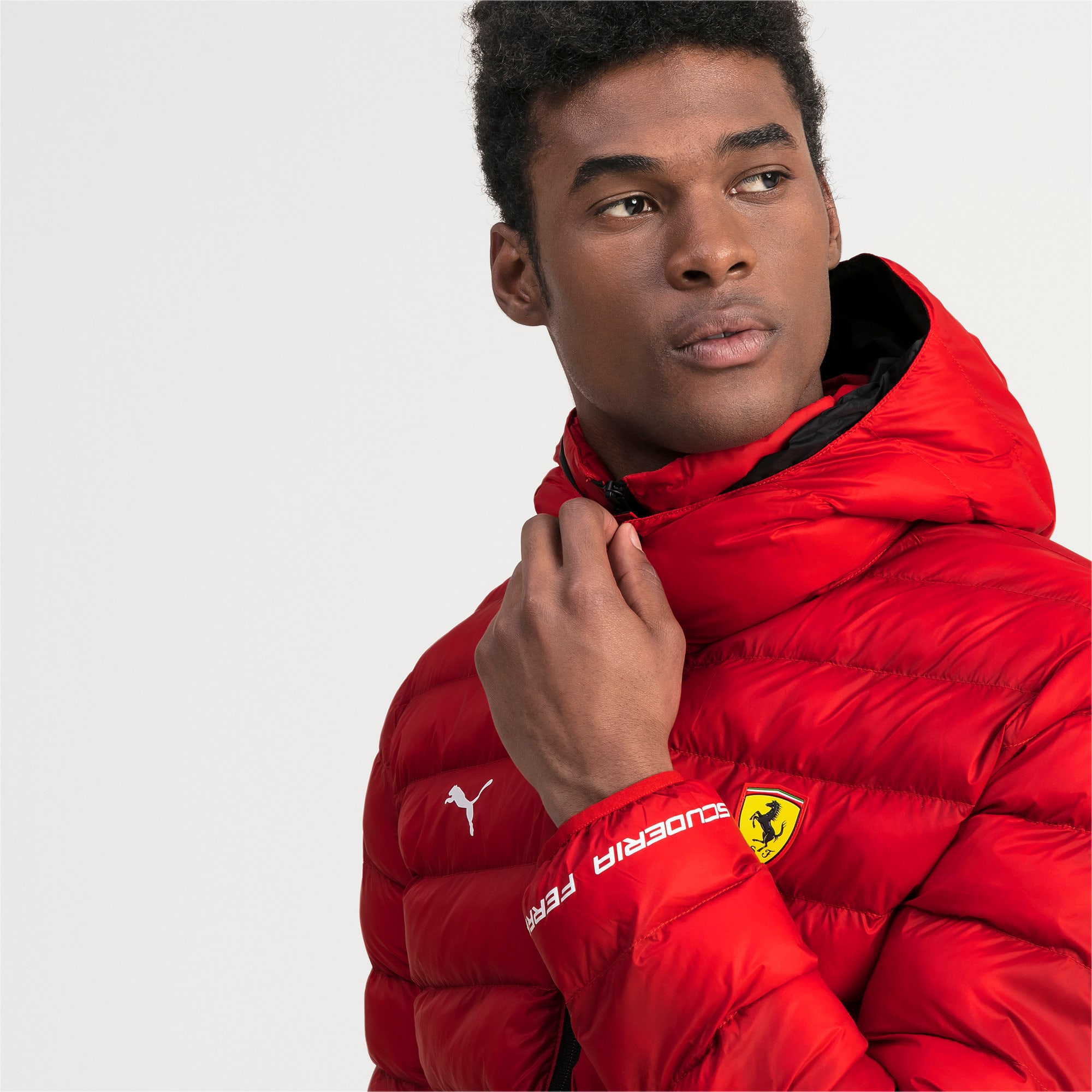 Ferrari Eco PackLITE jas voor mannen, Rosso Corsa, large
