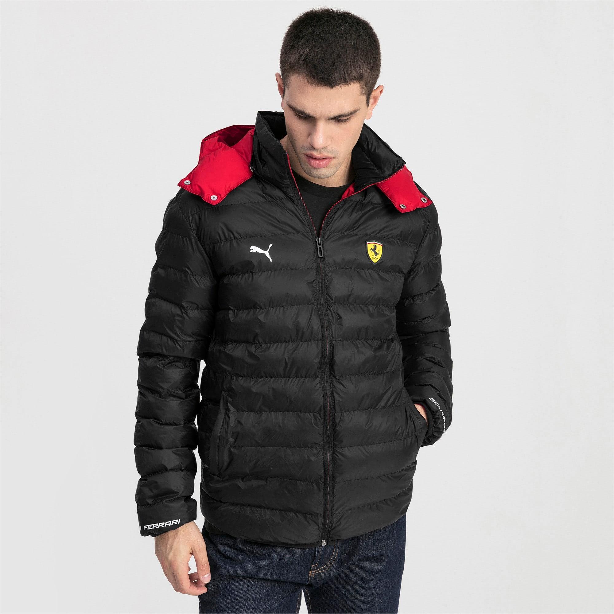 Thumbnail 1 van Ferrari Eco PackLITE jas voor mannen, Puma Black, medium