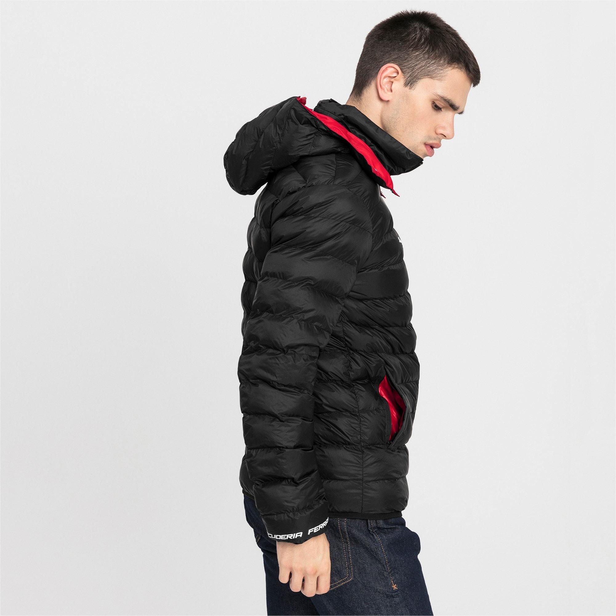 Thumbnail 2 of Ferrari Eco PackLITE Men's Jacket, Puma Black, medium