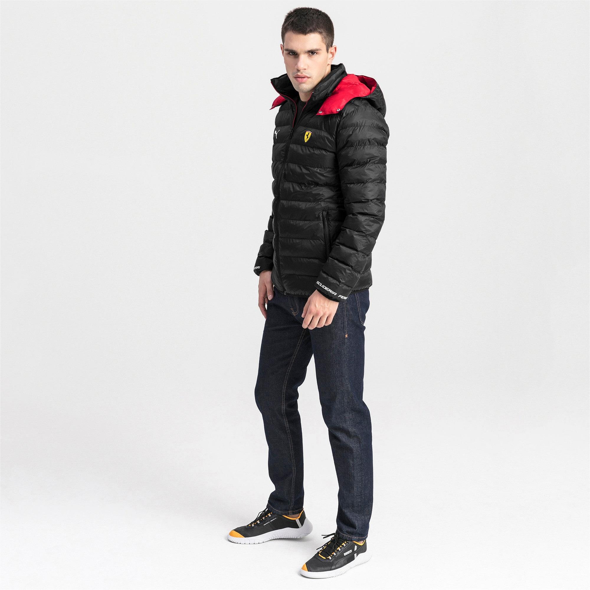 Thumbnail 3 van Ferrari Eco PackLITE jas voor mannen, Puma Black, medium