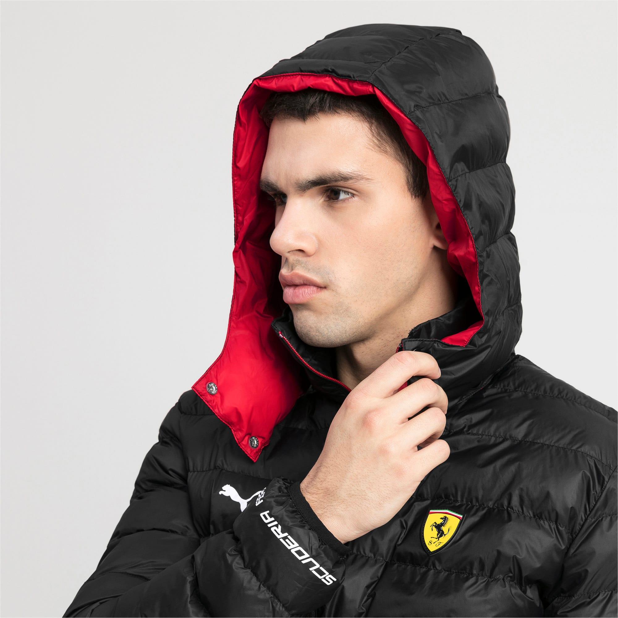 Thumbnail 4 of Ferrari Eco PackLITE Men's Jacket, Puma Black, medium