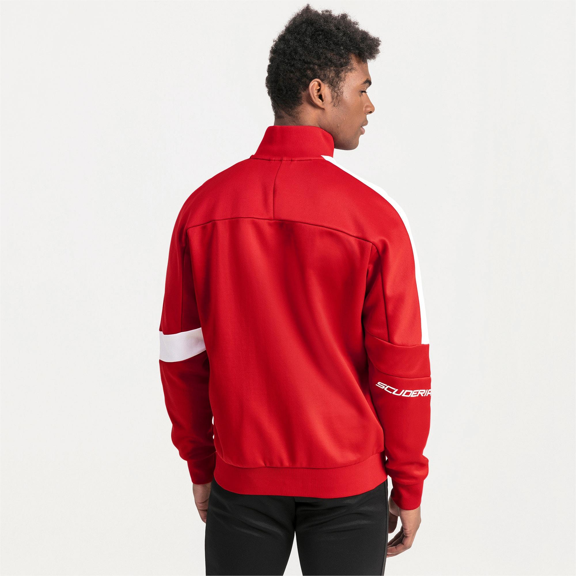 Thumbnail 2 of Ferrari T7 Men's Track Jacket, Rosso Corsa, medium