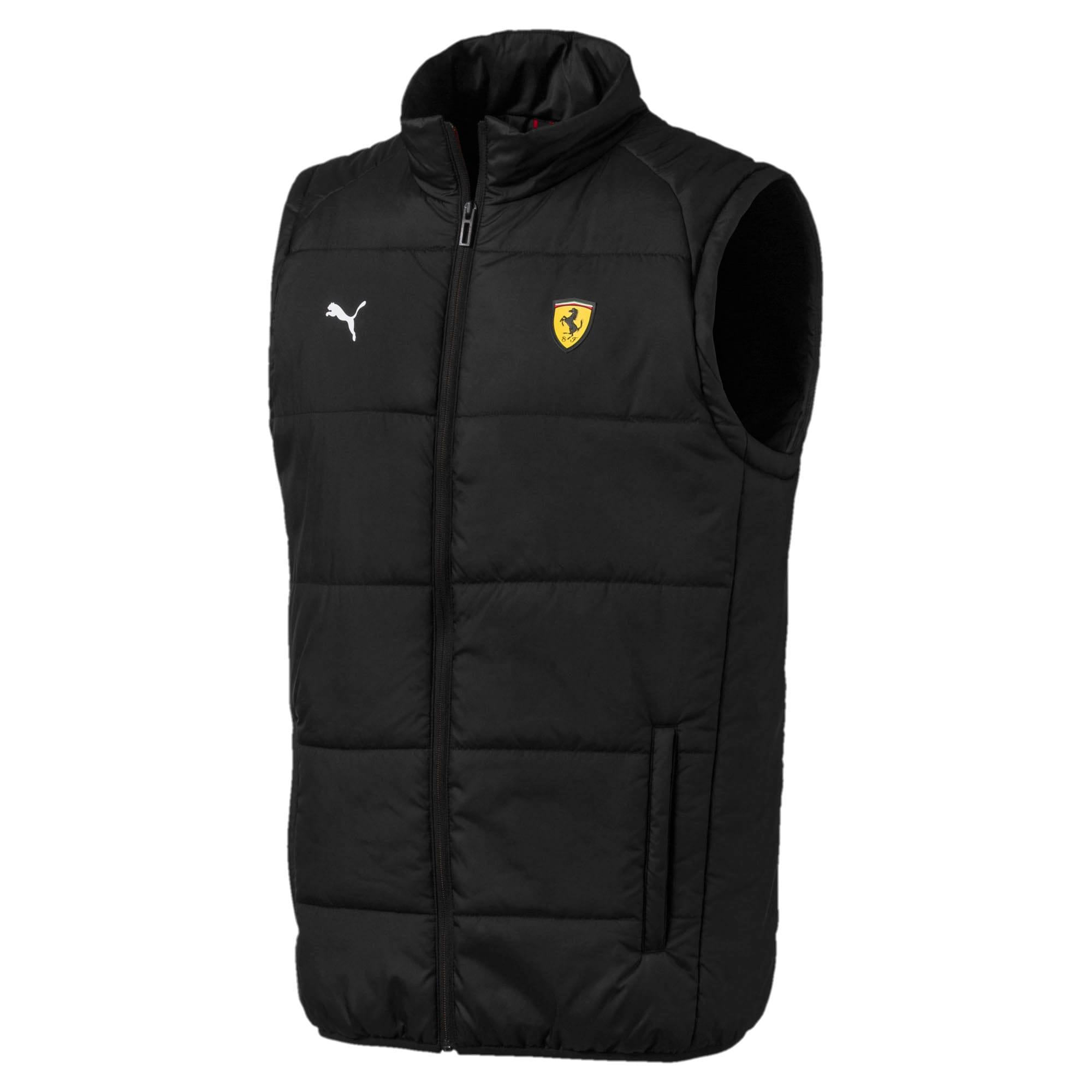 Miniatura 1 de Chaleco acolchado liviano Scuderia Ferrari para hombre, Puma Black, mediano