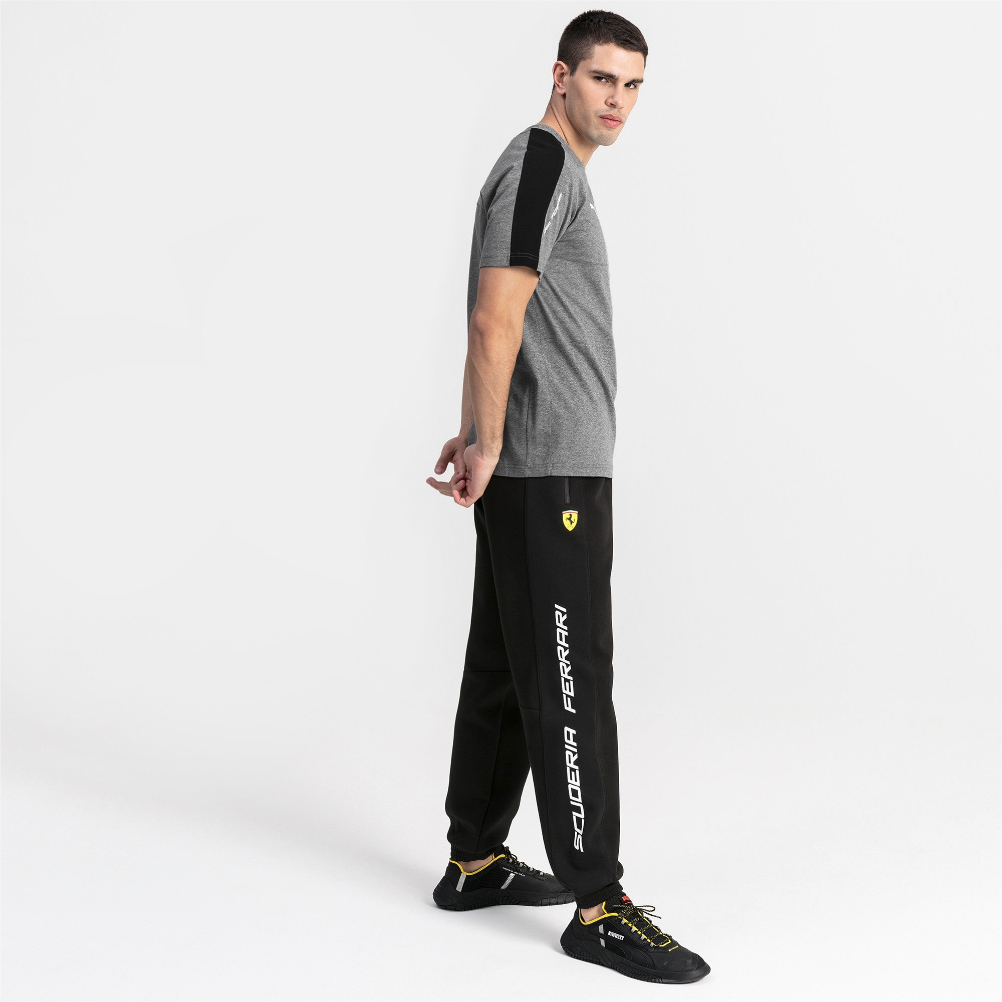 Thumbnail 3 of Ferrari Men's Sweatpants, Puma Black, medium