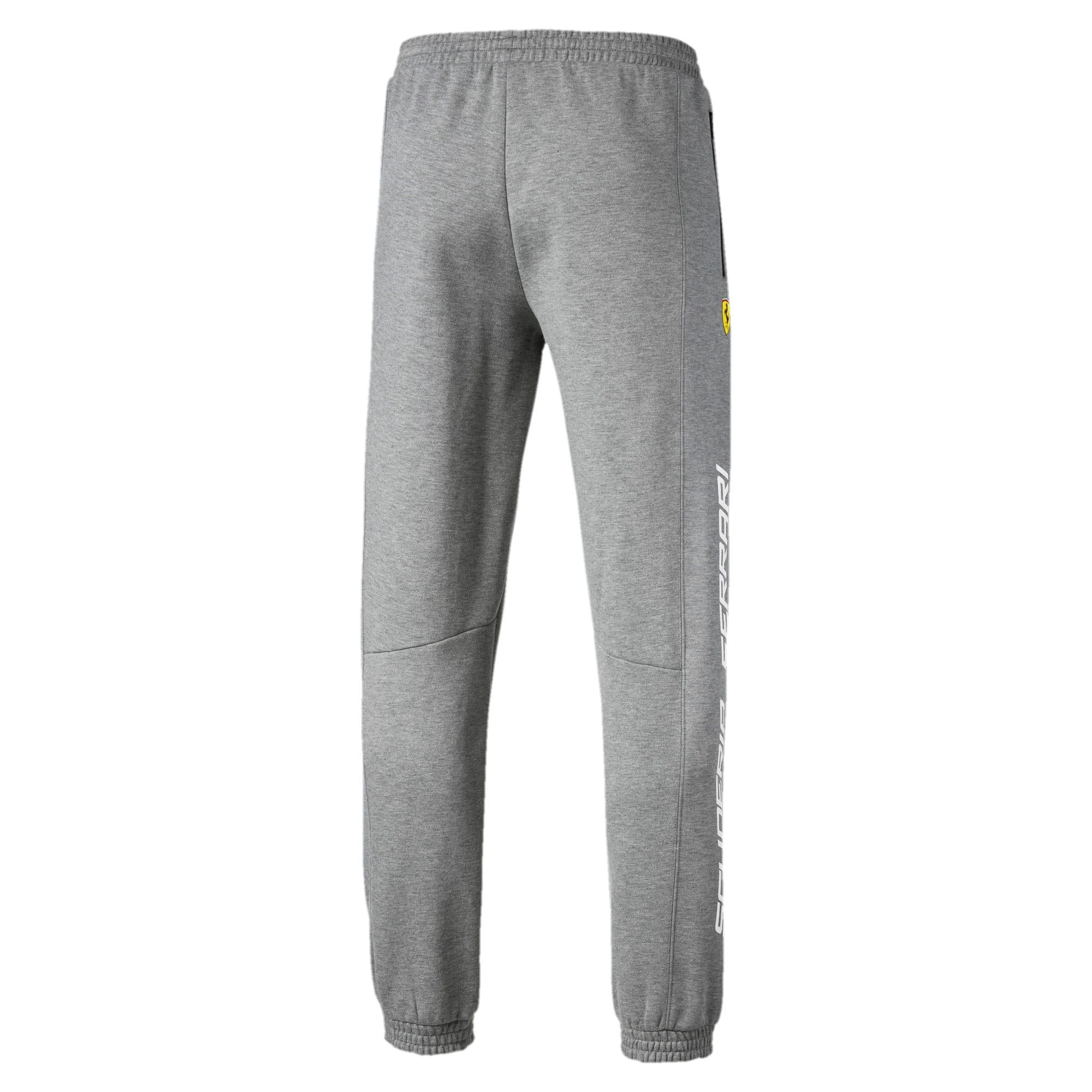 Thumbnail 2 of Scuderia Ferrari Men's Sweatpants, Medium Gray Heather, medium