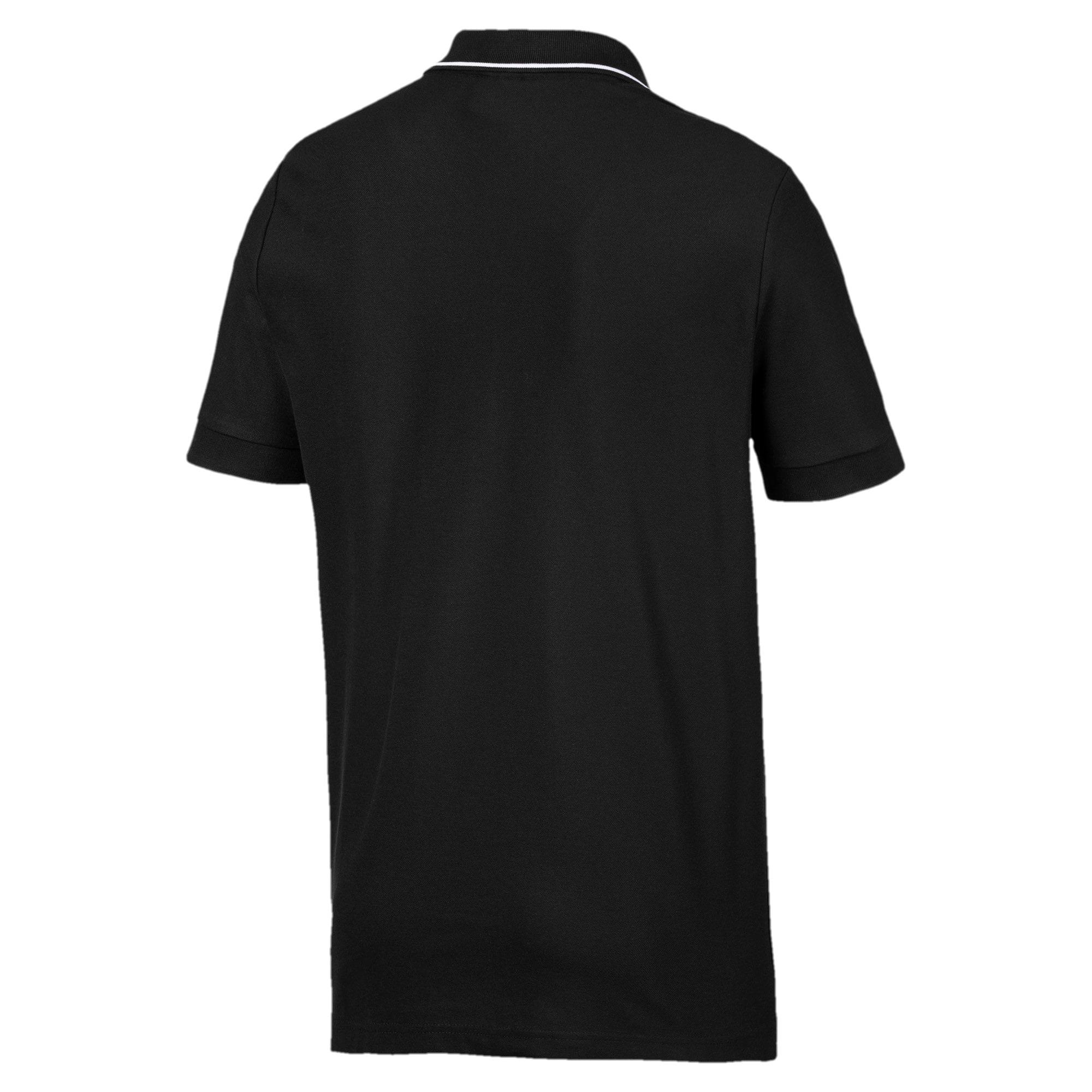 Miniatura 2 de Camiseta tipo polo Scuderia Ferrari para hombre, Puma Black, mediano