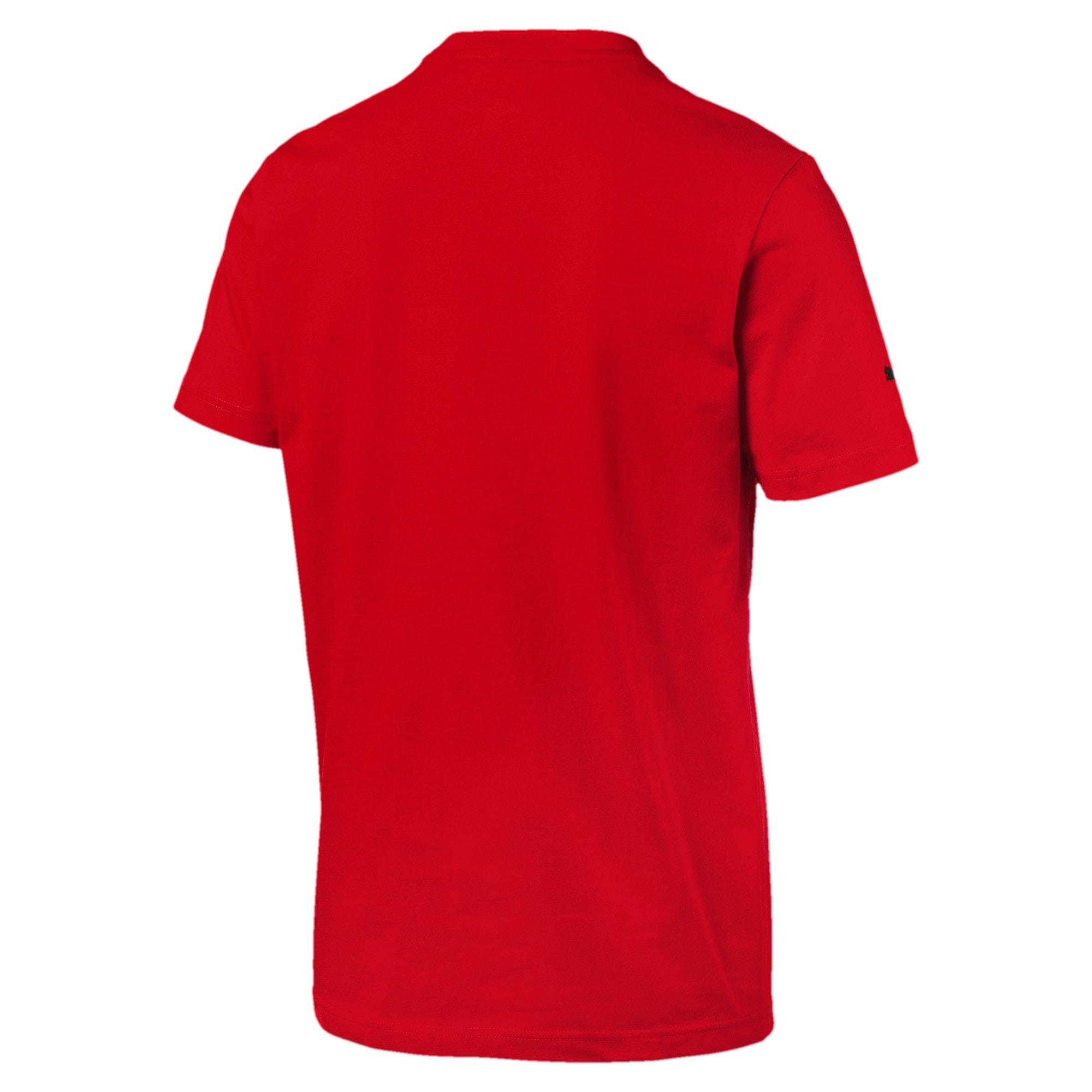 Thumbnail 3 of フェラーリ ビッグシールド Tシャツ + 半袖, Rosso Corsa, medium-JPN