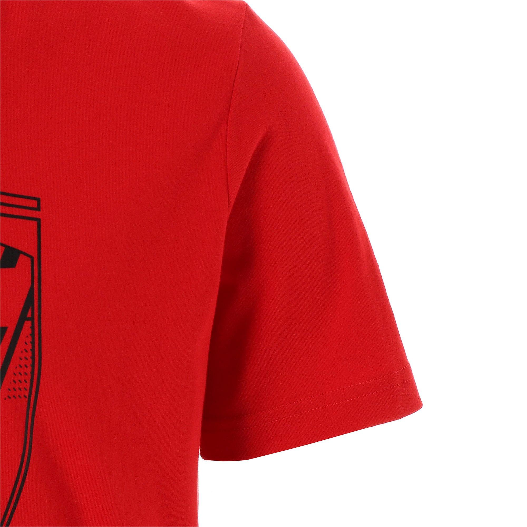 Thumbnail 5 of フェラーリ ビッグシールド Tシャツ + 半袖, Rosso Corsa, medium-JPN