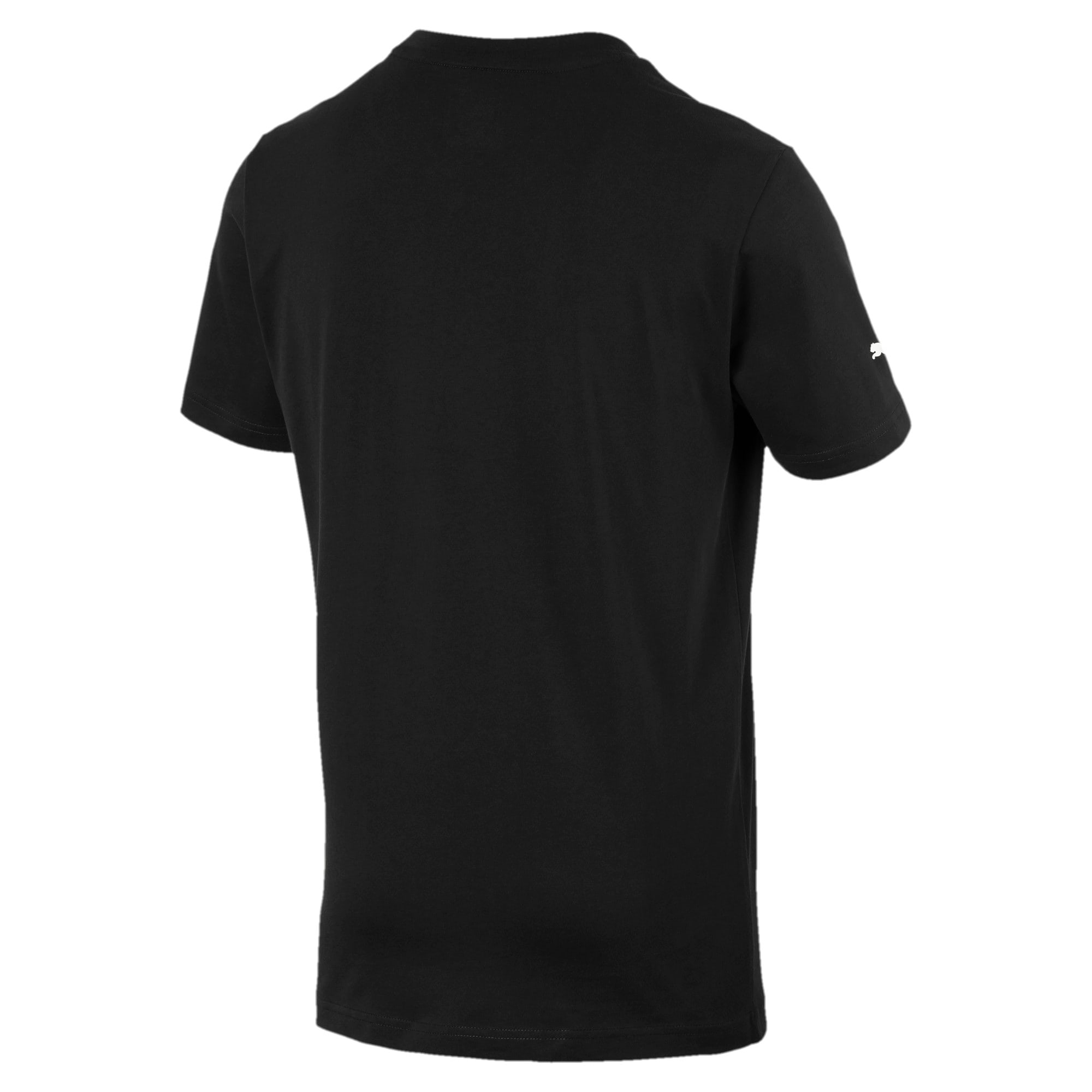 Thumbnail 3 of フェラーリ ビッグシールド Tシャツ + 半袖, Puma Black, medium-JPN