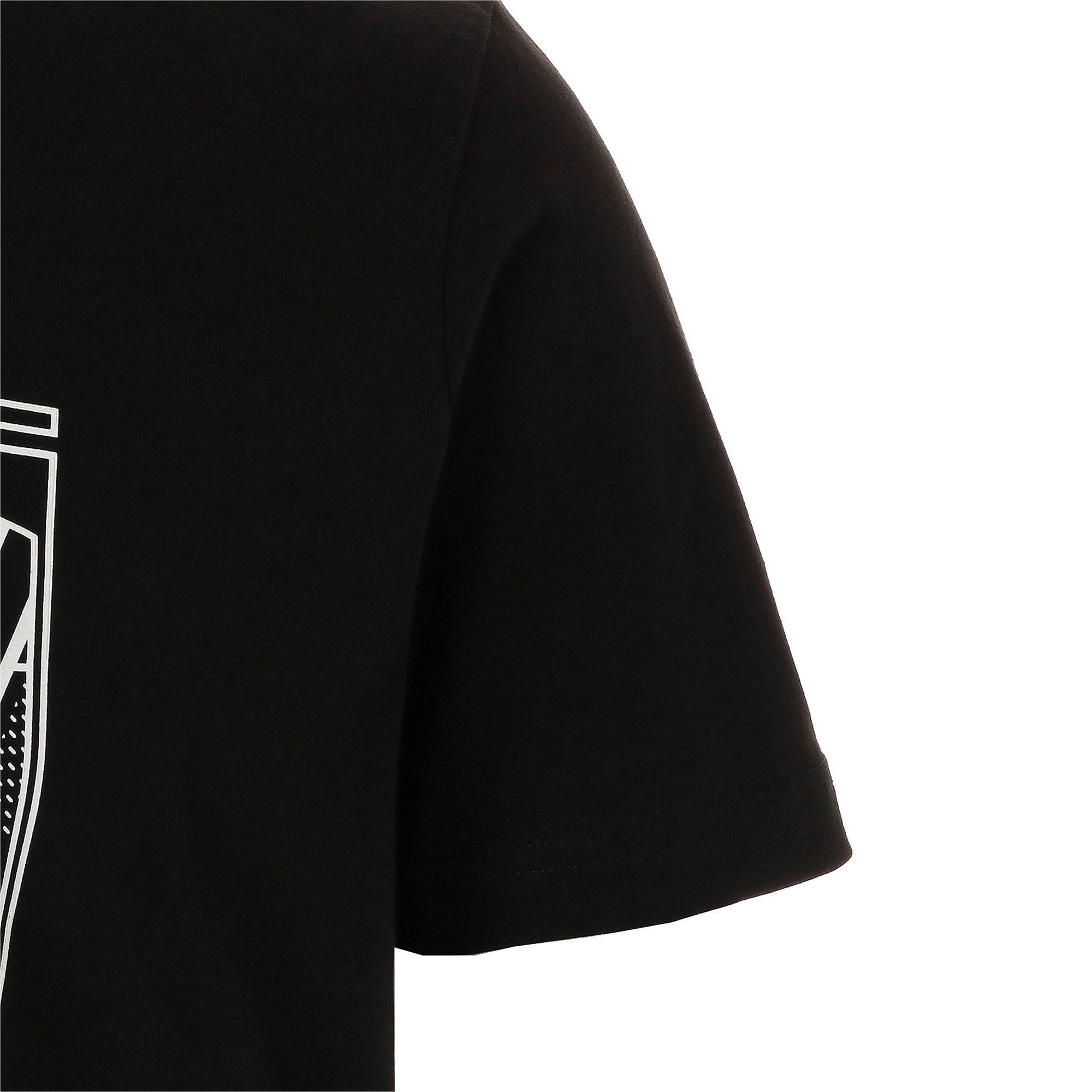 Thumbnail 5 of フェラーリ ビッグシールド Tシャツ + 半袖, Puma Black, medium-JPN