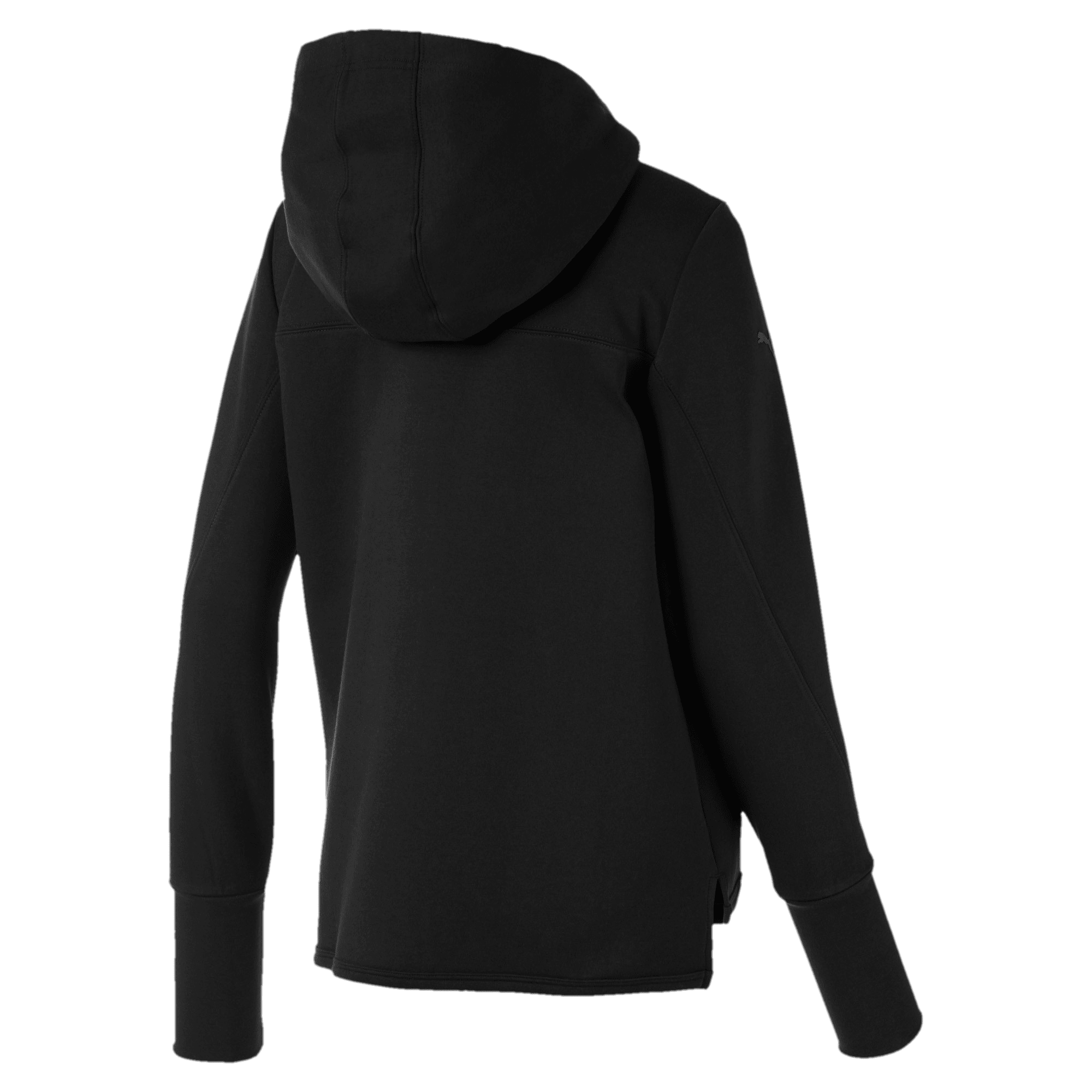 Thumbnail 2 of Scuderia Ferrari Women's Hooded Sweat Jacket, Puma Black, medium