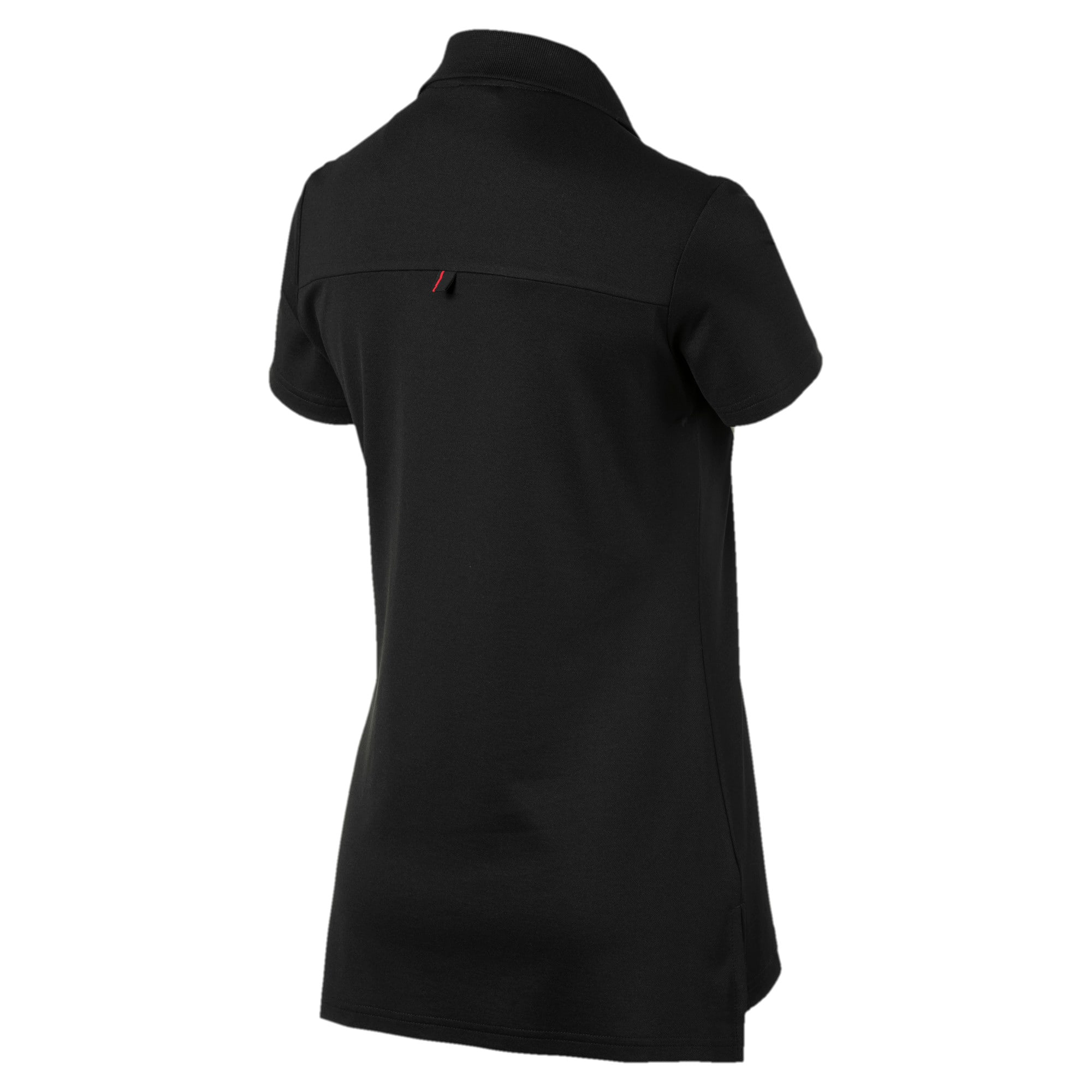 Miniatura 2 de Camiseta tipo polo Scuderia Ferrari para mujer, Puma Black, mediano
