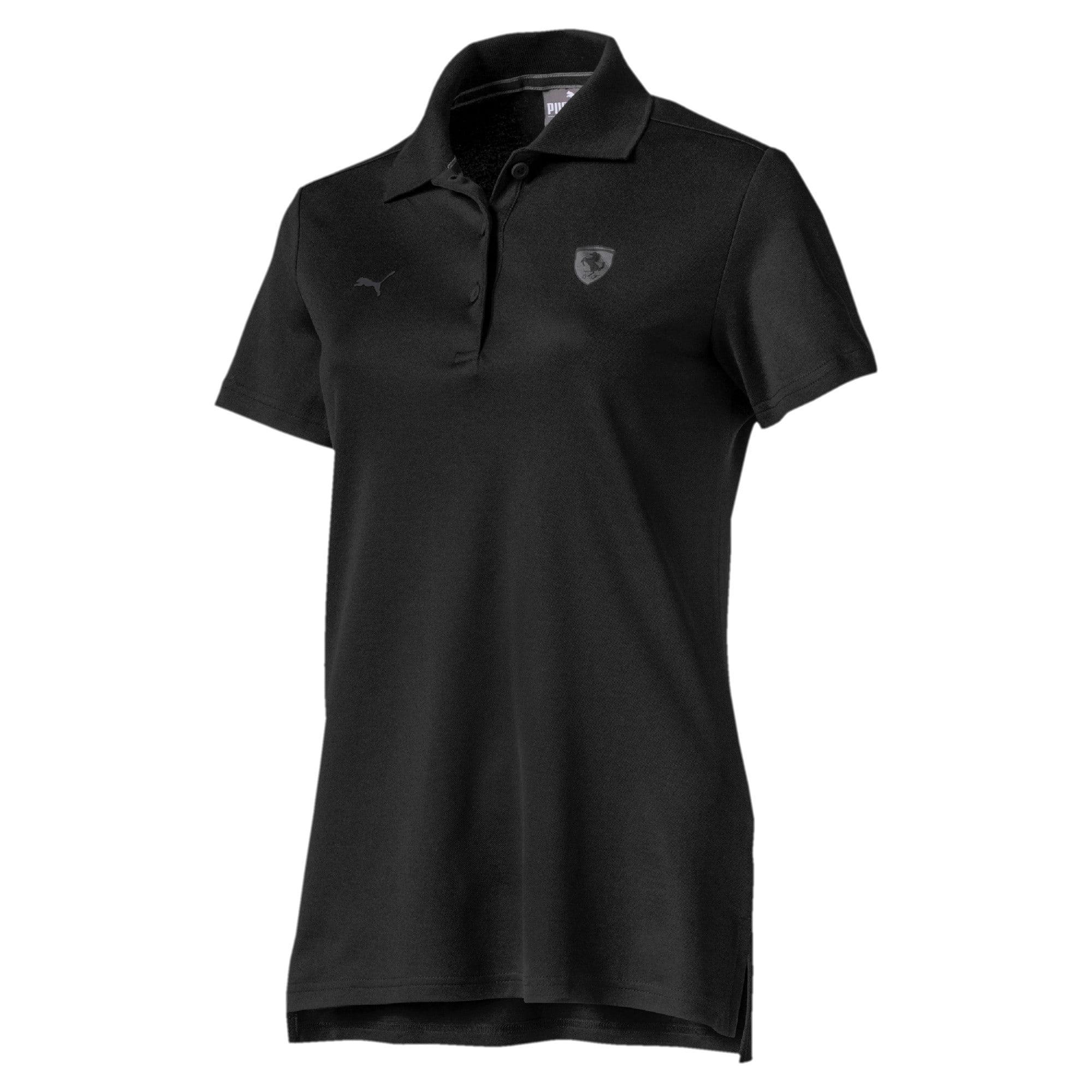 Thumbnail 4 of Ferrari Women's Polo Shirt, Puma Black, medium