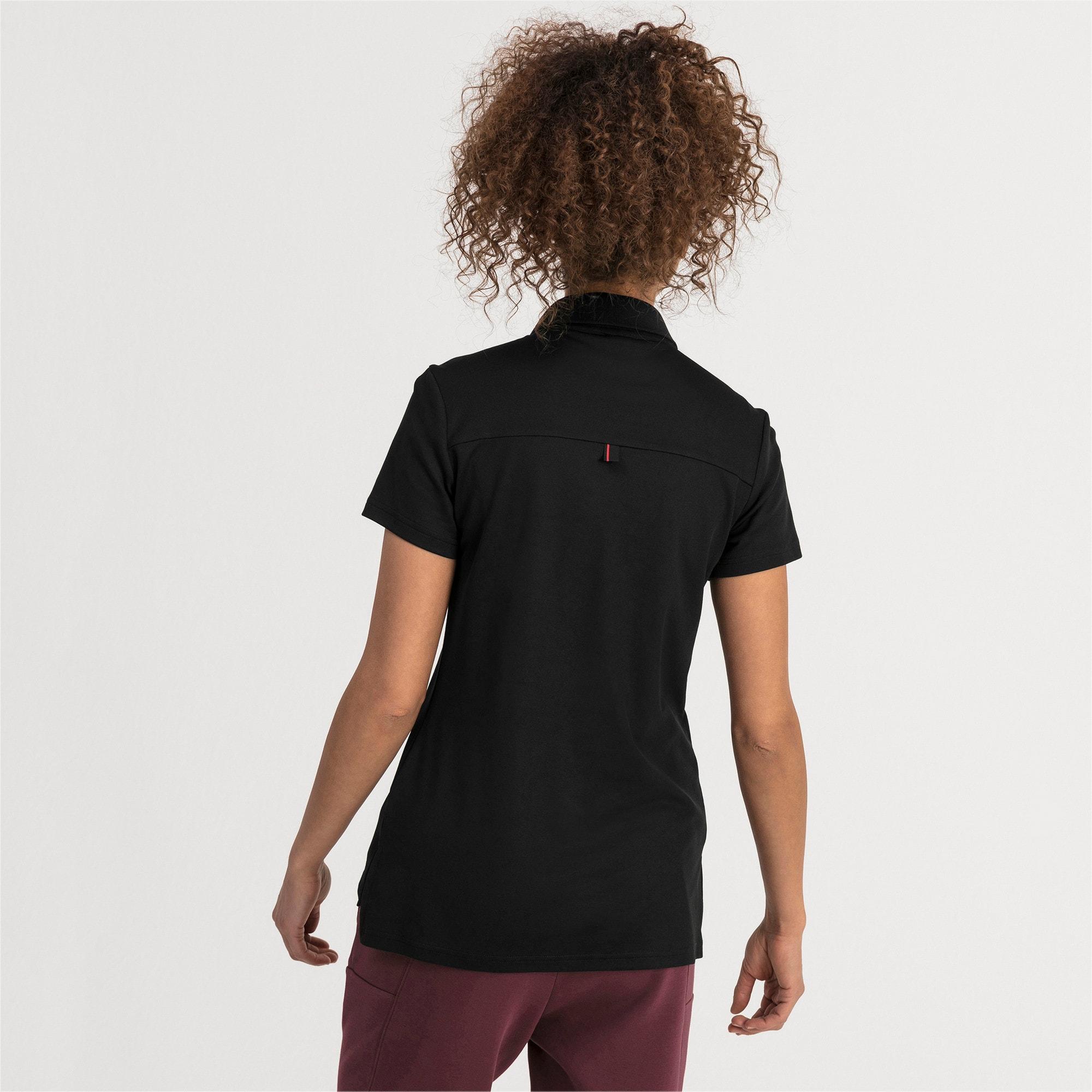 Thumbnail 2 of Ferrari Women's Polo Shirt, Puma Black, medium