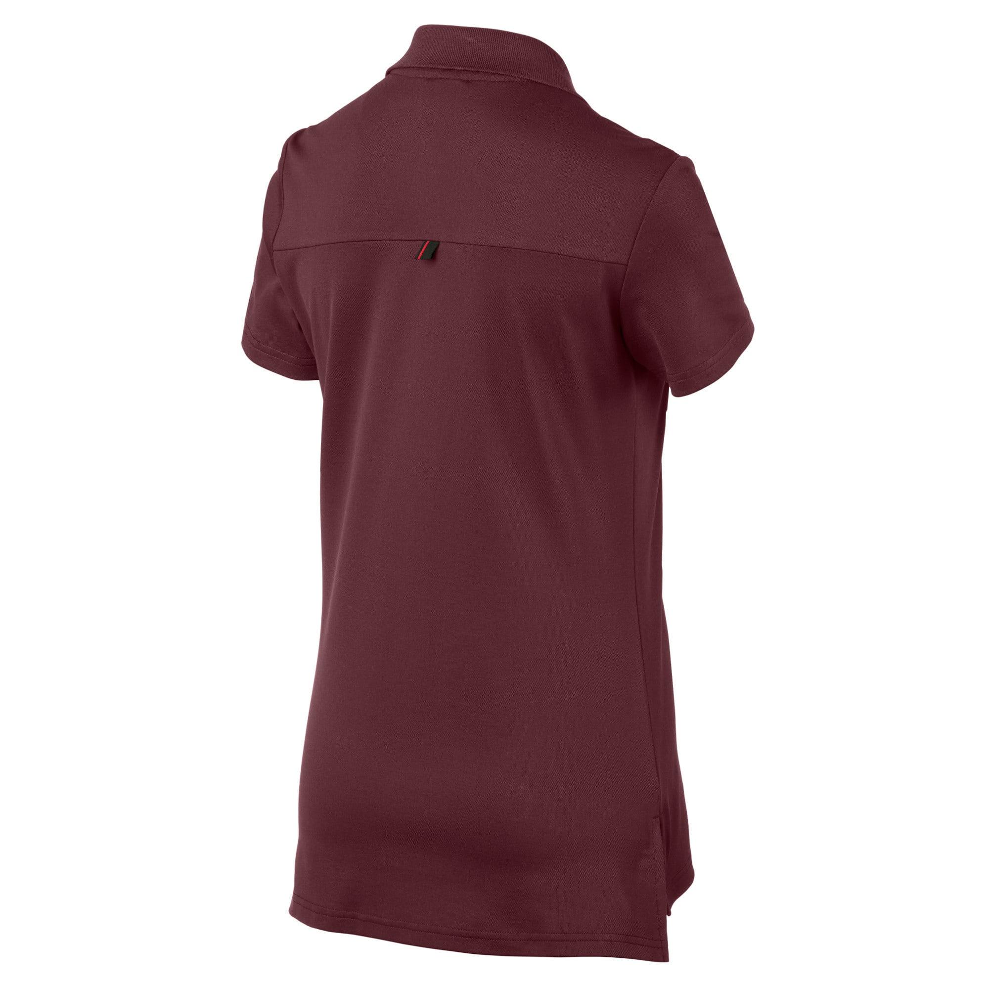 Thumbnail 5 of Ferrari Women's Polo Shirt, Vineyard Wine, medium