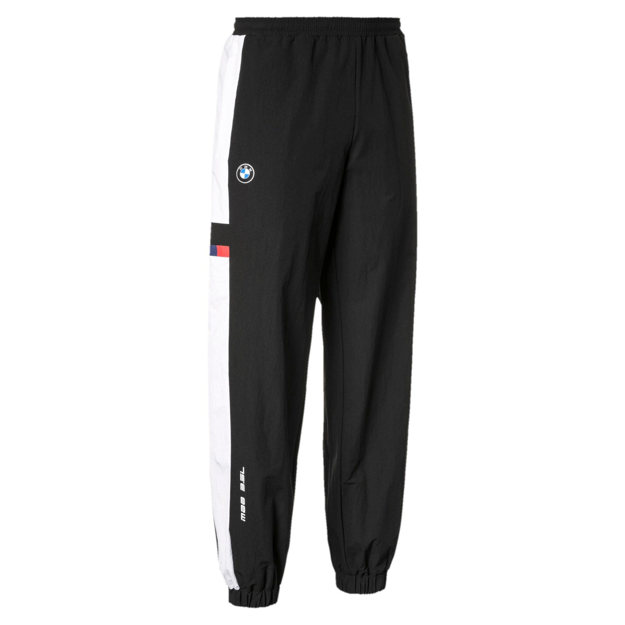 Thumbnail 3 of BMW M Motorsport Street Men's Woven Pants, Puma Black, medium