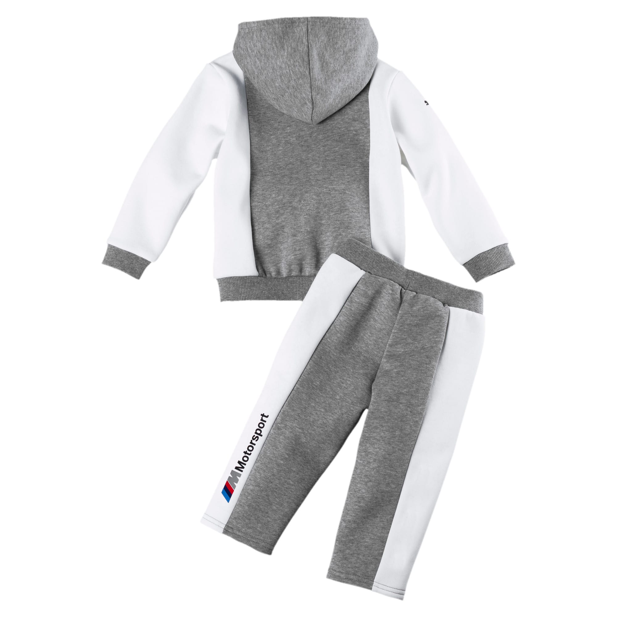 Miniatura 2 de Conjunto deportivo BMW M Motorsport para infantes y bebés, Medium Gray Heather, mediano