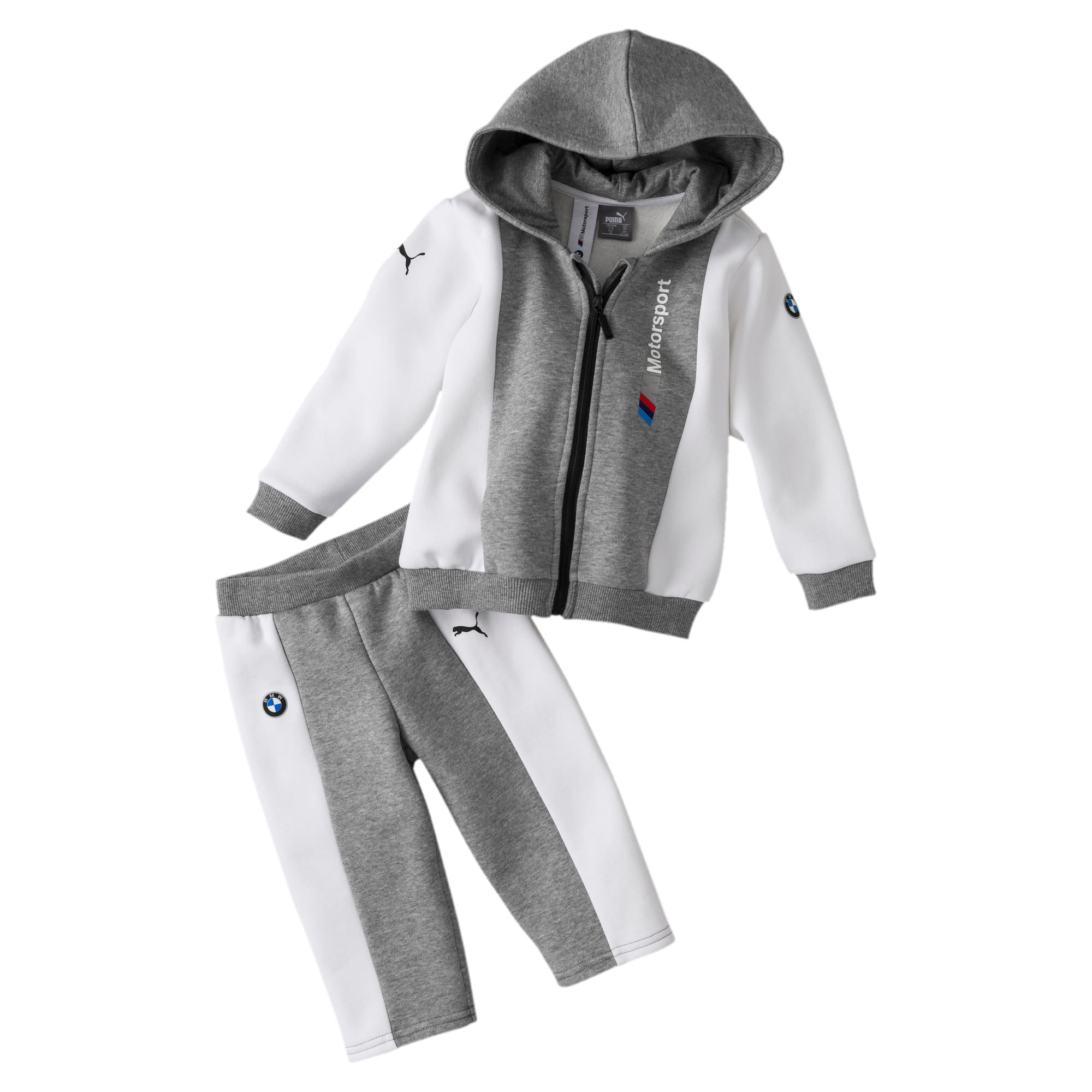 Miniatura 1 de Conjunto deportivo BMW M Motorsport para infantes y bebés, Medium Gray Heather, mediano
