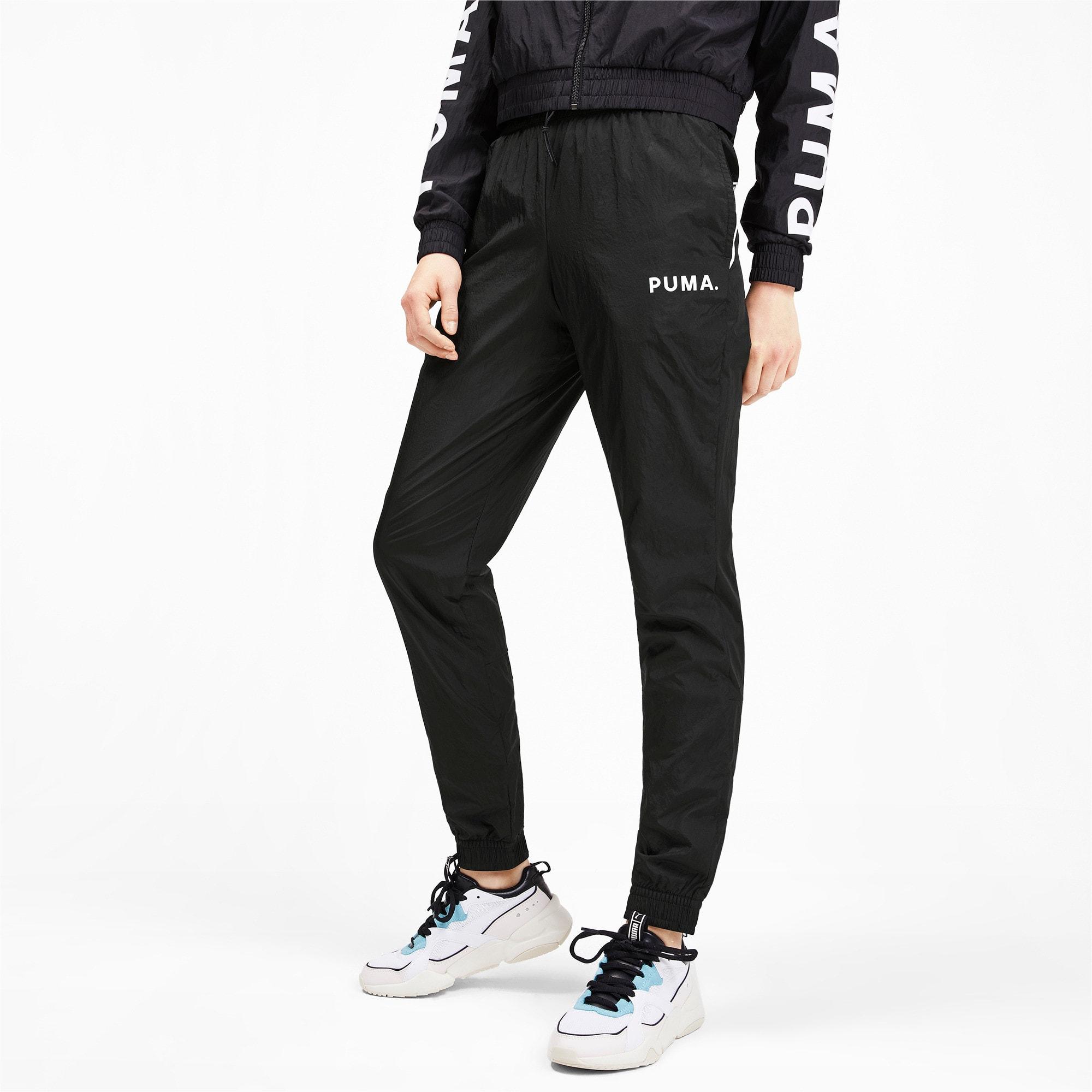 Miniatura 2 de Pantalones de punto Chase para mujer, Puma Black, mediano