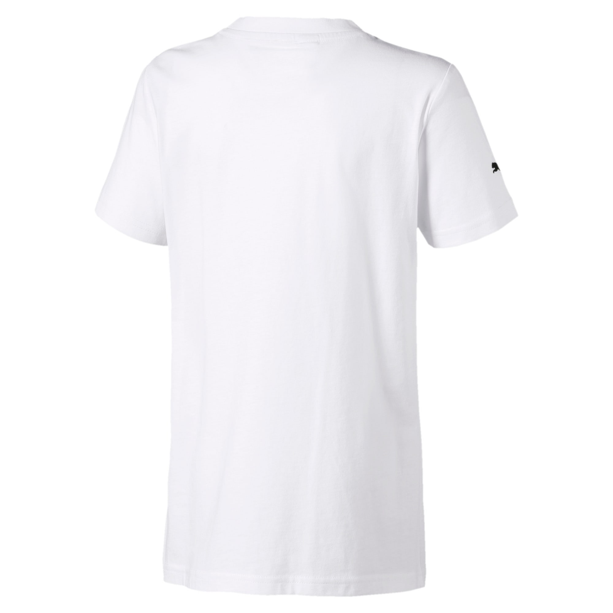 Miniatura 2 de Camiseta con logo BMW M Motorsport para niño joven, Puma White, mediano