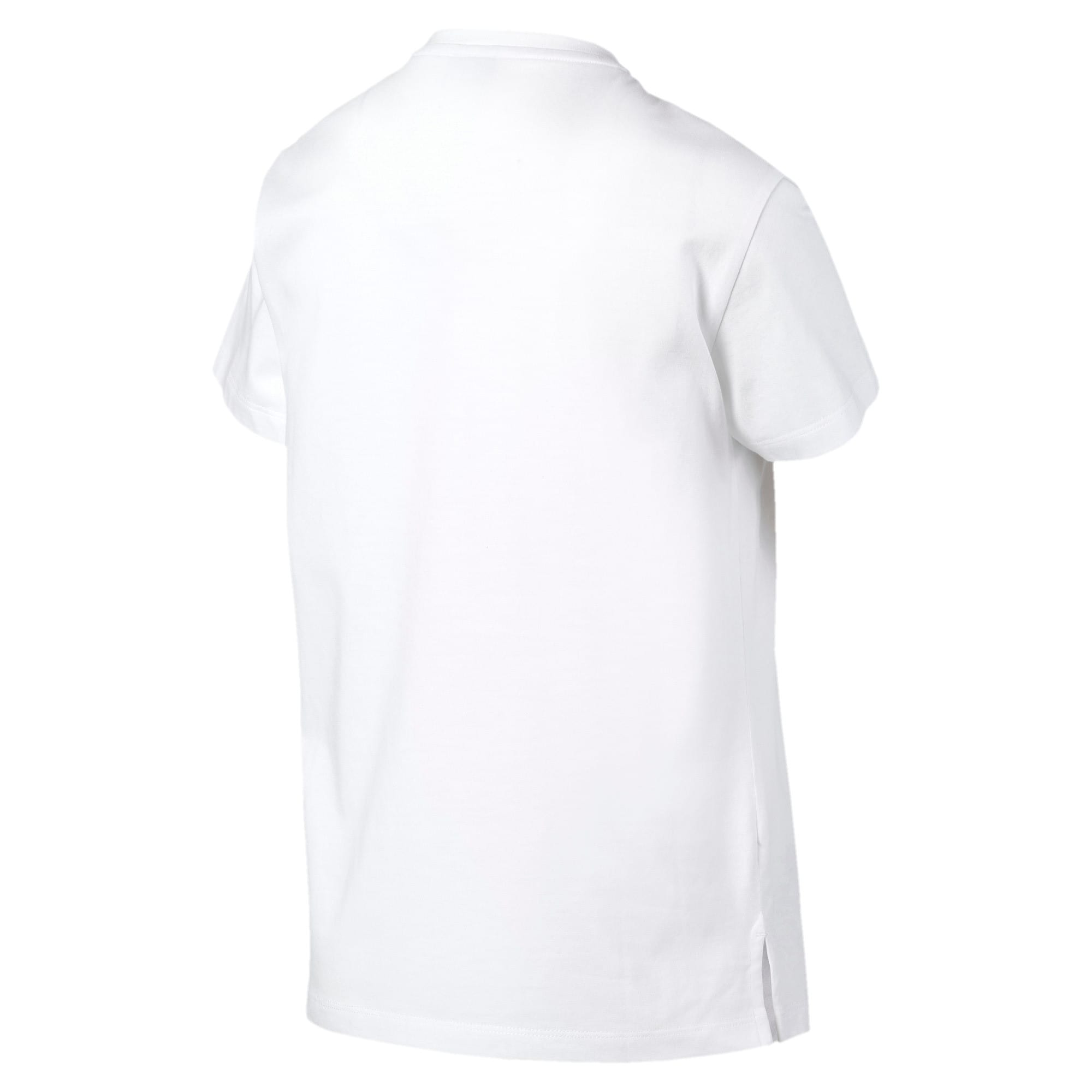 Thumbnail 5 of Classics Logo Women's Tee, Puma White, medium