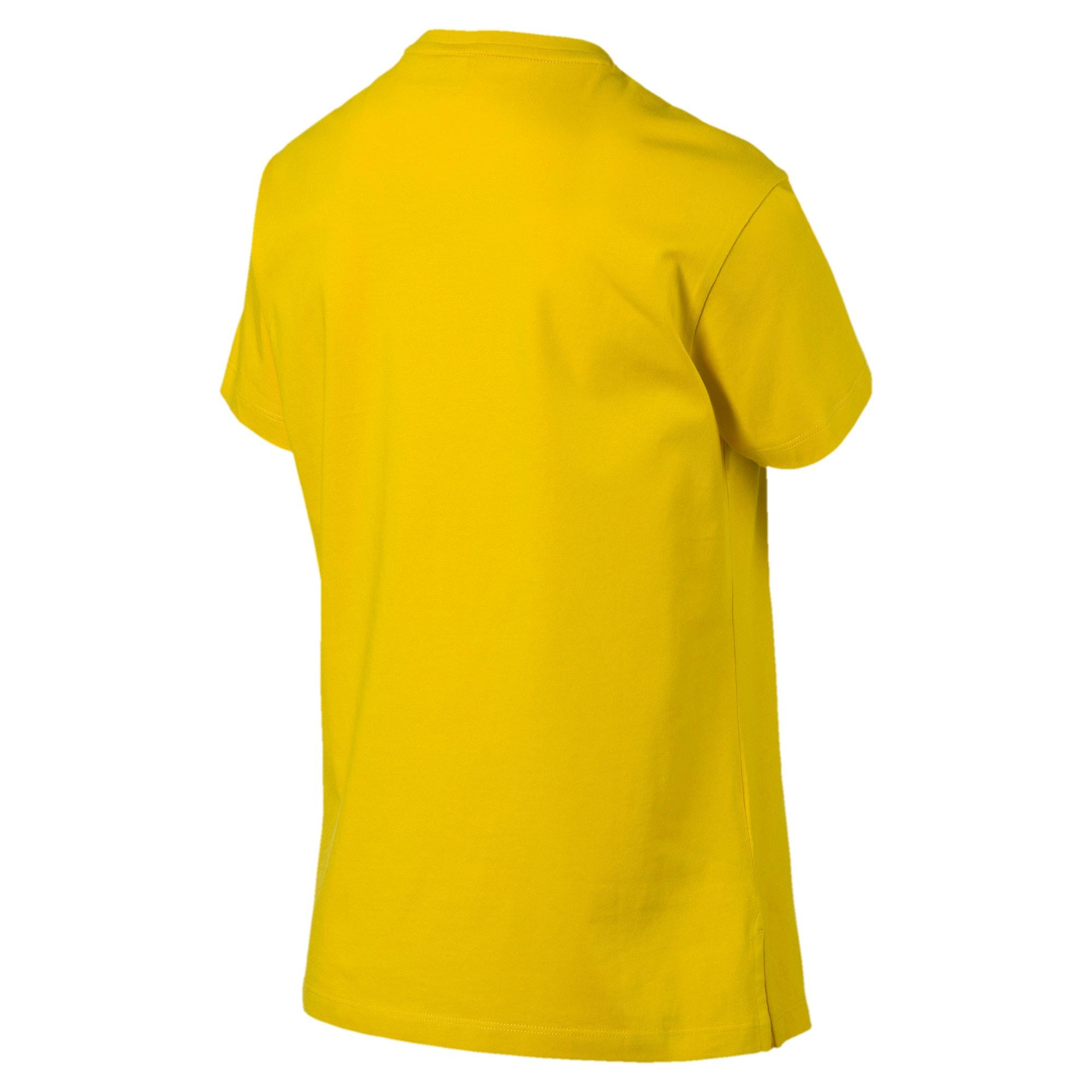 Miniatura 5 de Camiseta Classics con logotipo para mujer, Sulphur, mediano