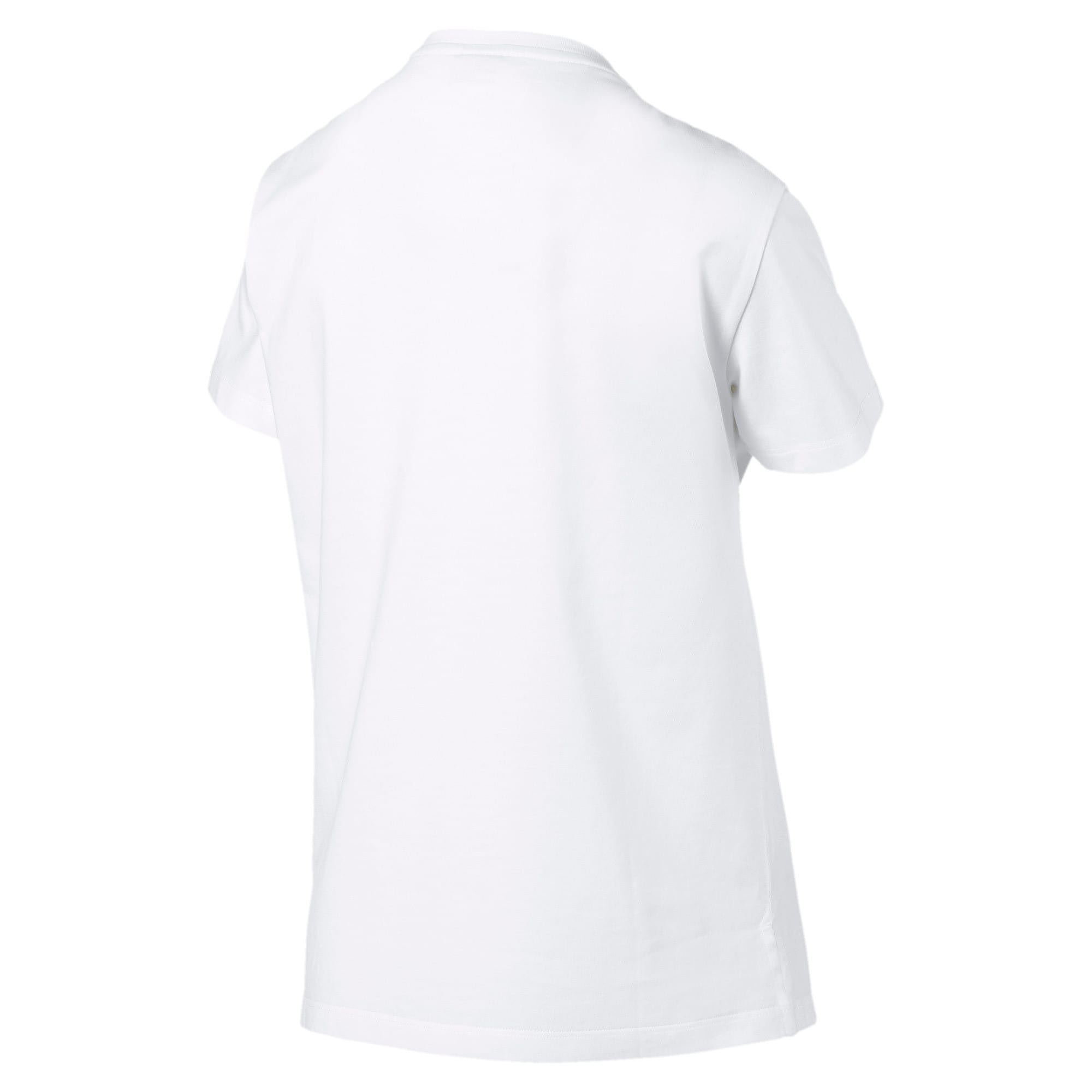 Thumbnail 5 of Classics Women's Logo Tee, Puma White, medium