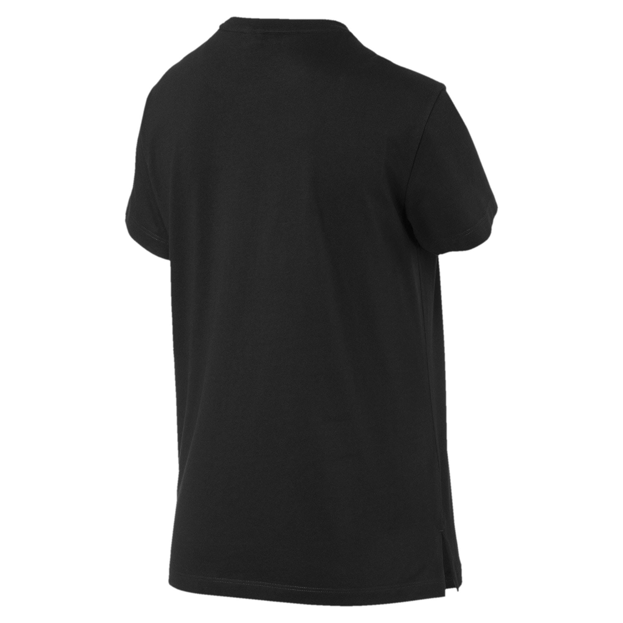 Miniatura 5 de Camiseta Classics AOP con logo para mujer, Puma Black, mediano