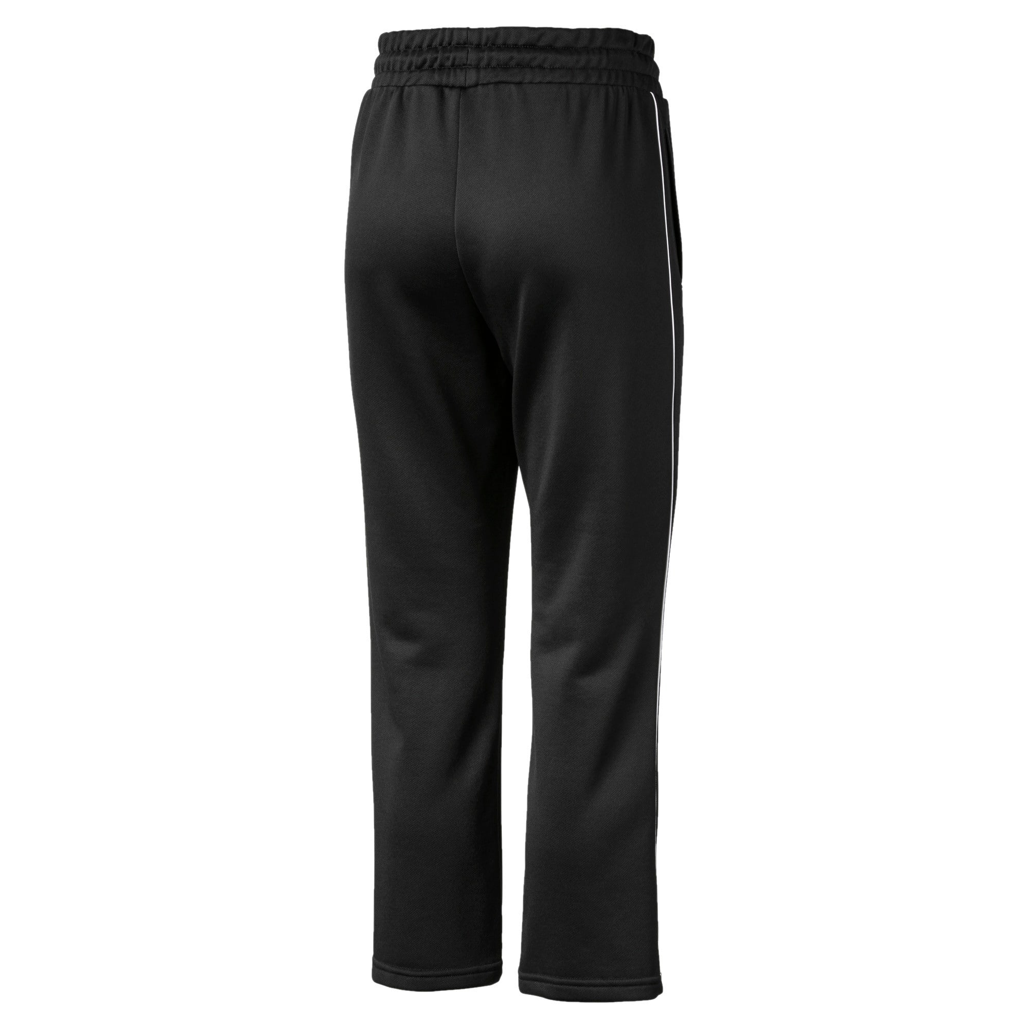 Thumbnail 5 of Classics Kick Flare Knitted Women's Pants, Puma Black, medium