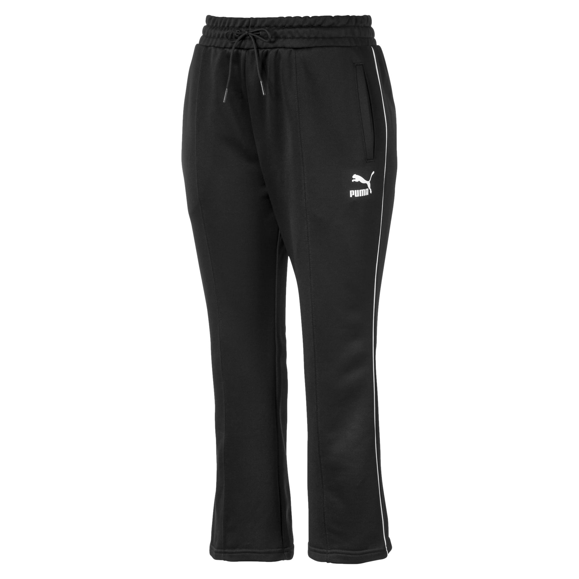 Thumbnail 4 of Classics Kick Flare Knitted Women's Pants, Puma Black, medium